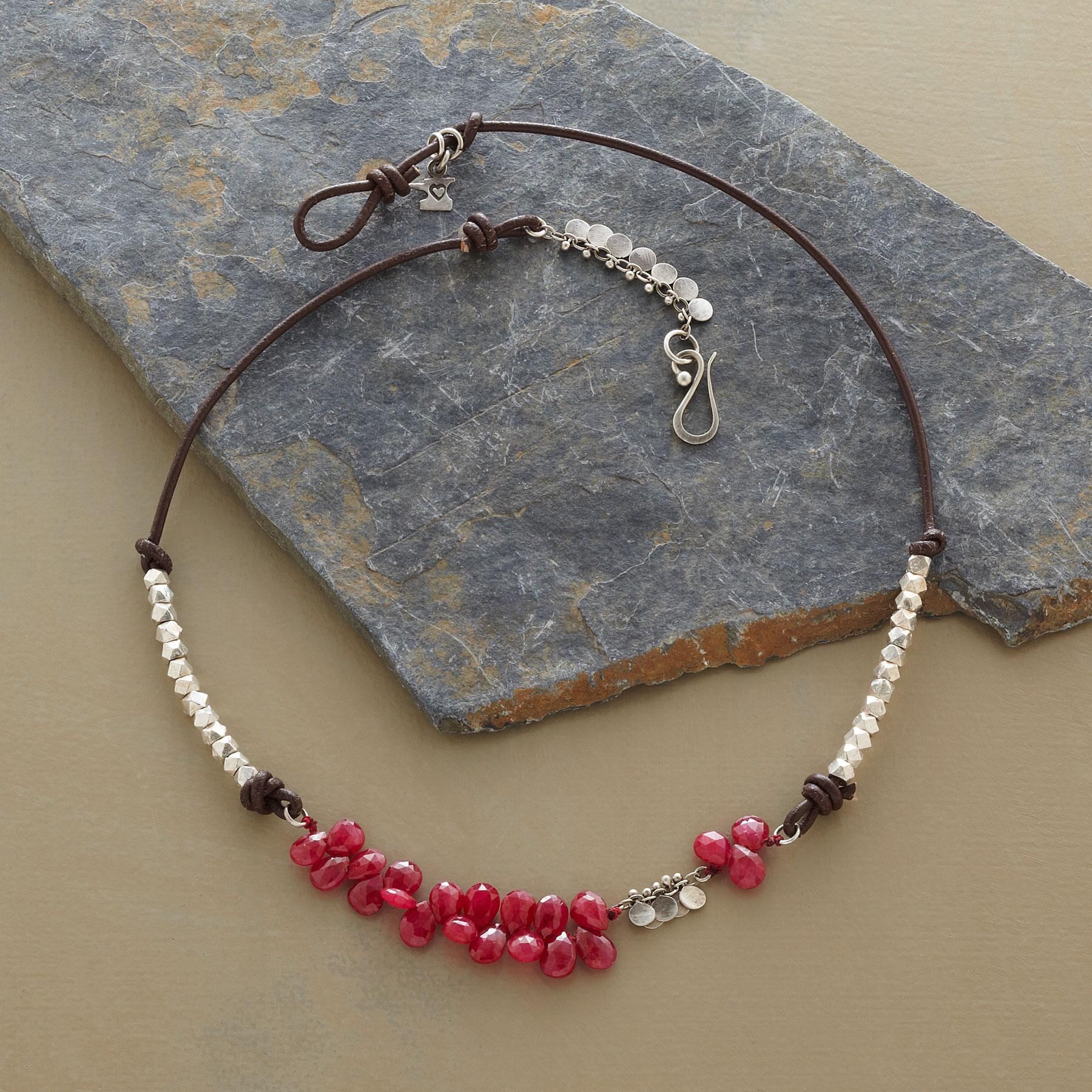 RUBIES AND MORE NECKLACE: View 2