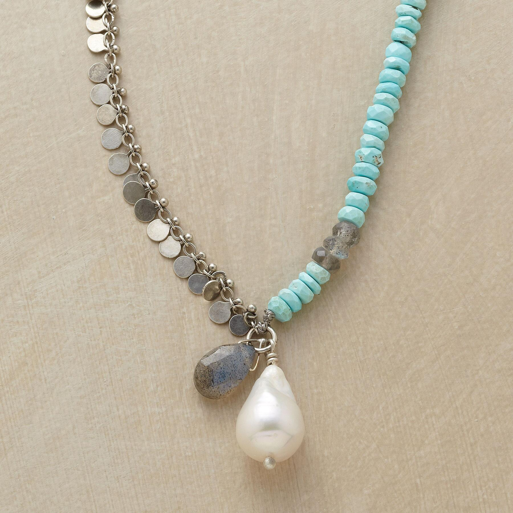 WABI SABI PEARL NECKLACE: View 1