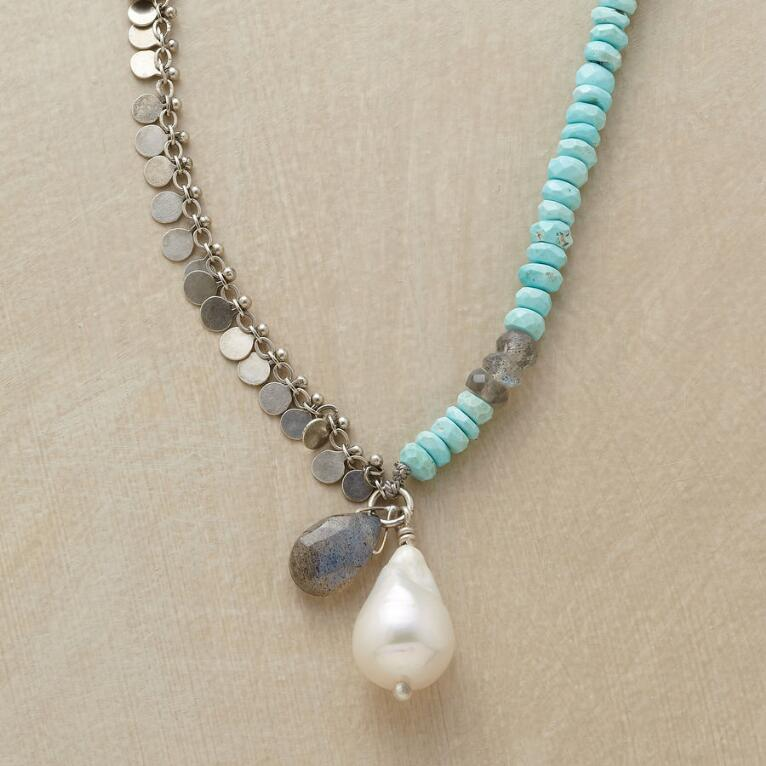 WABI SABI PEARL NECKLACE