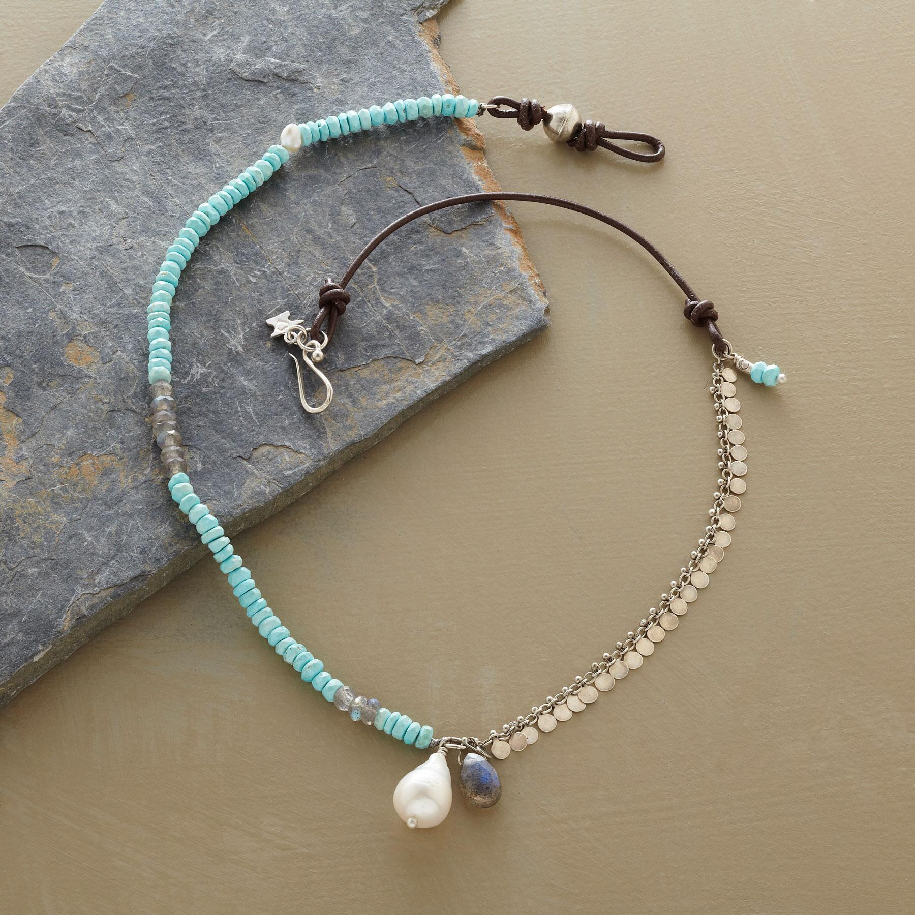 WABI SABI PEARL NECKLACE: View 2
