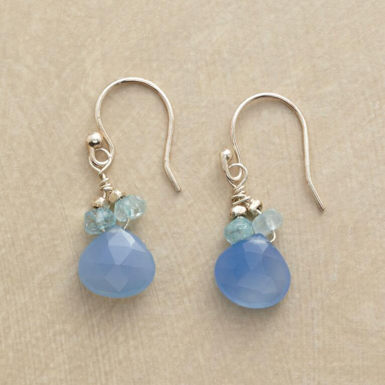 BLUE ON BLUE EARRINGS