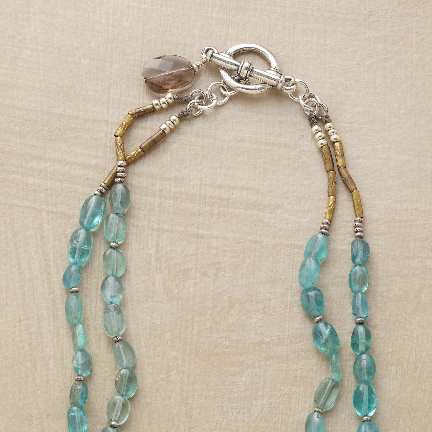 TWO BLUE NECKLACE: View 3