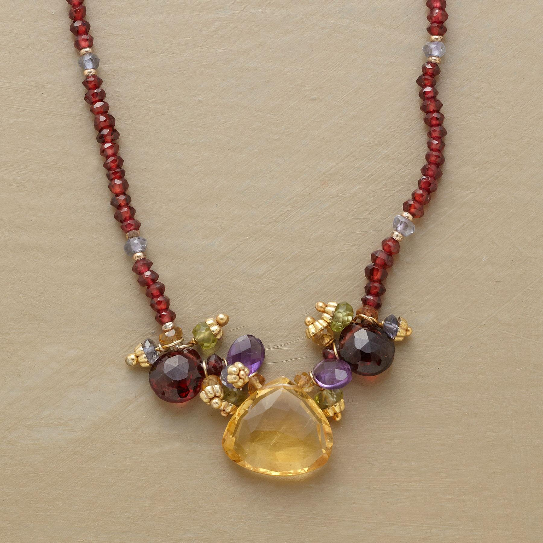 MANY GEMS NECKLACE: View 1