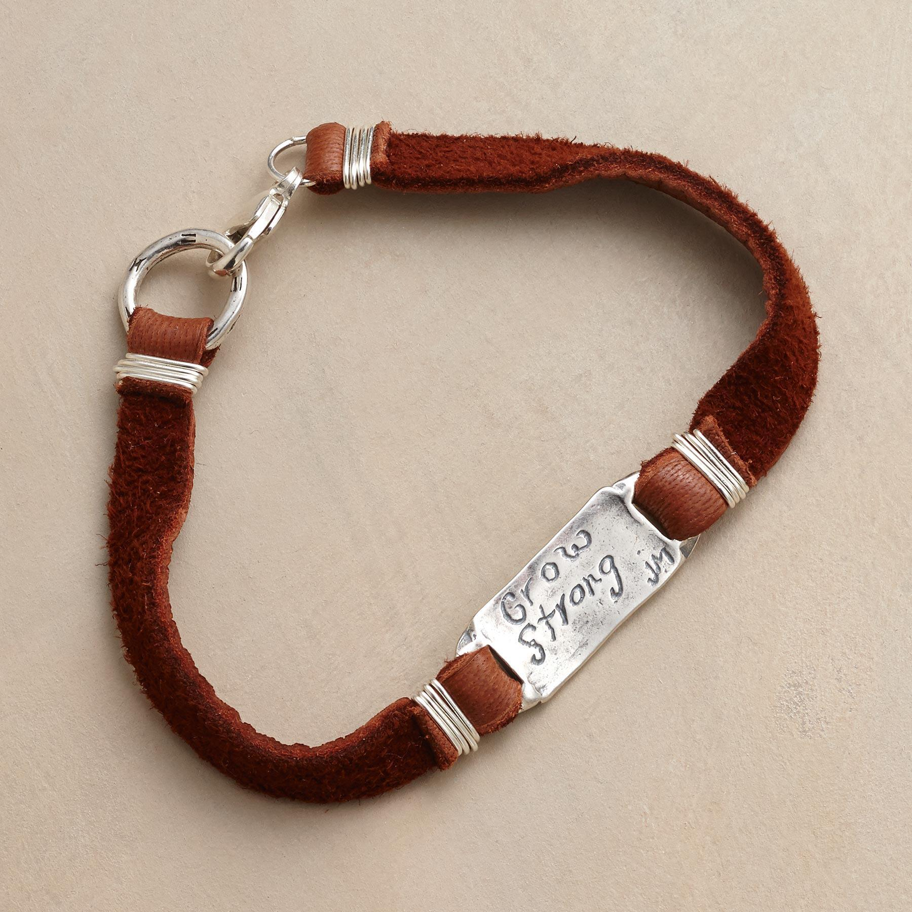 NEW FORTITUDE SUEDE BRACELET: View 2