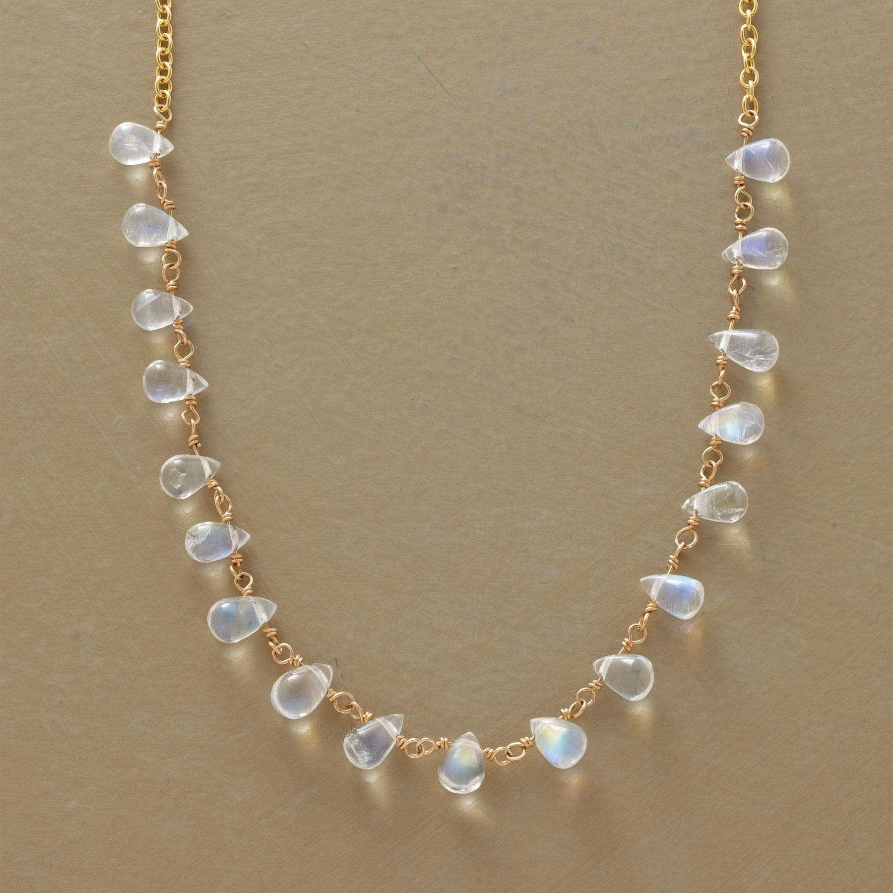 MOONSTONE MIRAGE NECKLACE: View 1