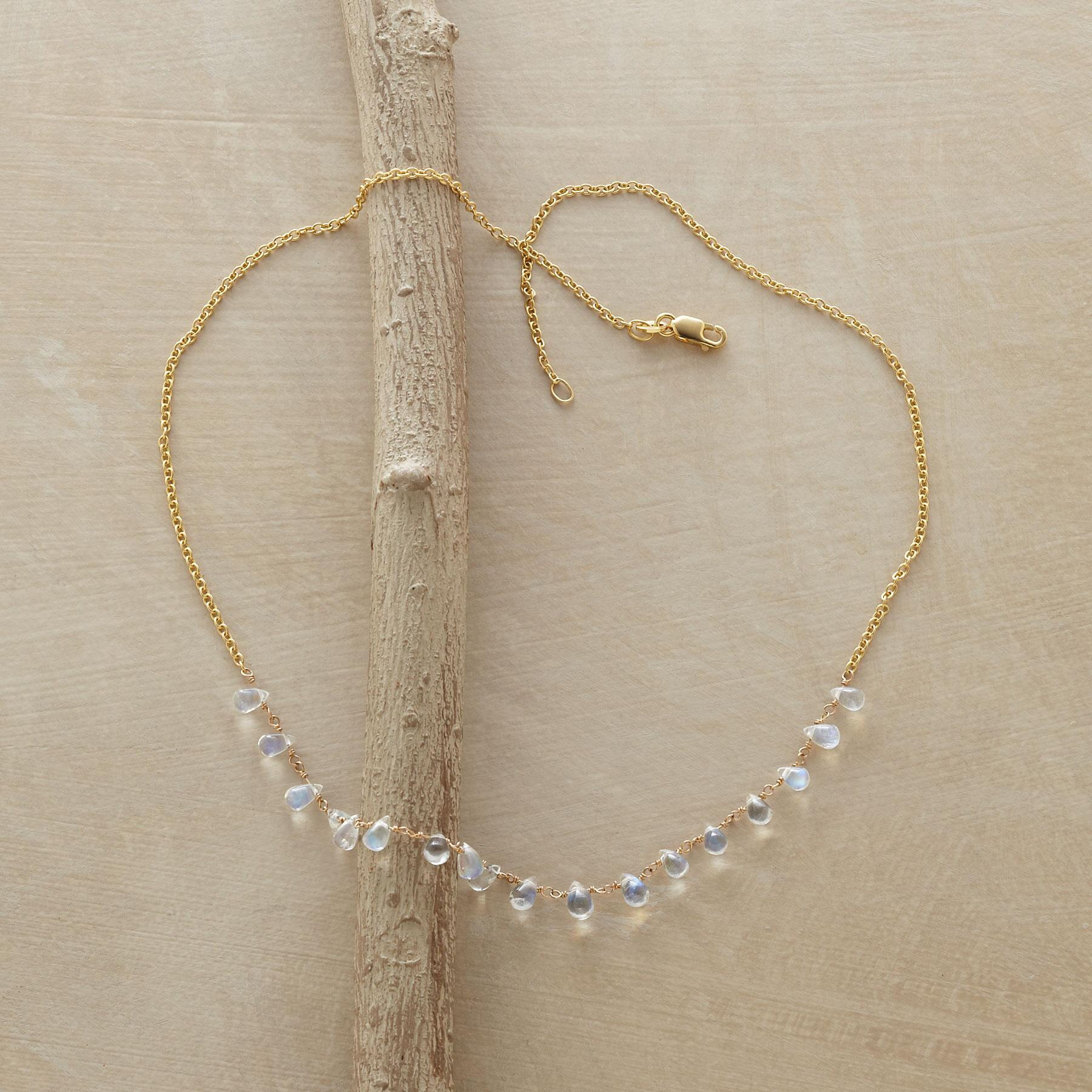 MOONSTONE MIRAGE NECKLACE: View 2