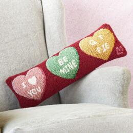 VALENTINE CANDY HEART BOLSTER