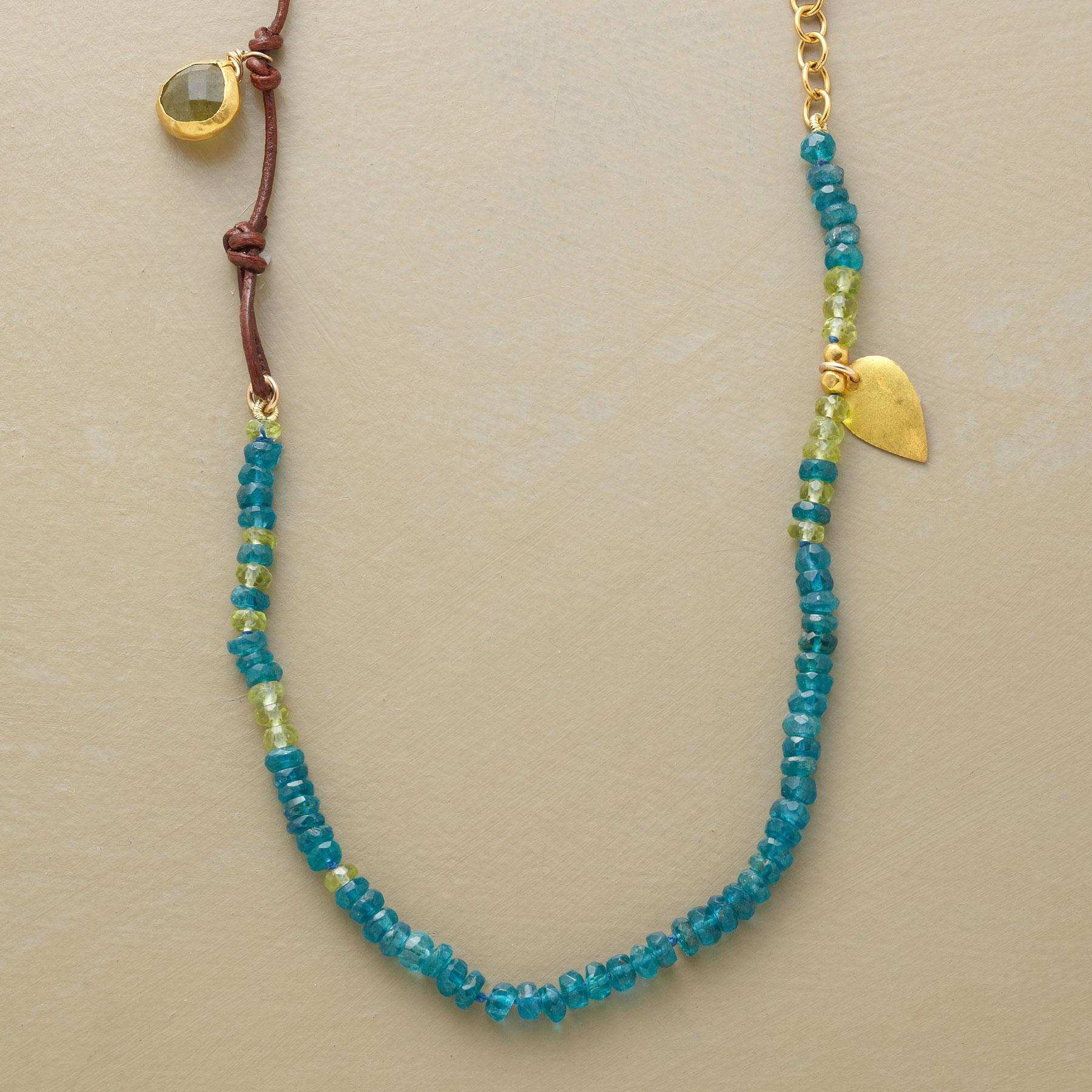 HANDCRAFTED SHORELINE NECKLACE: View 1