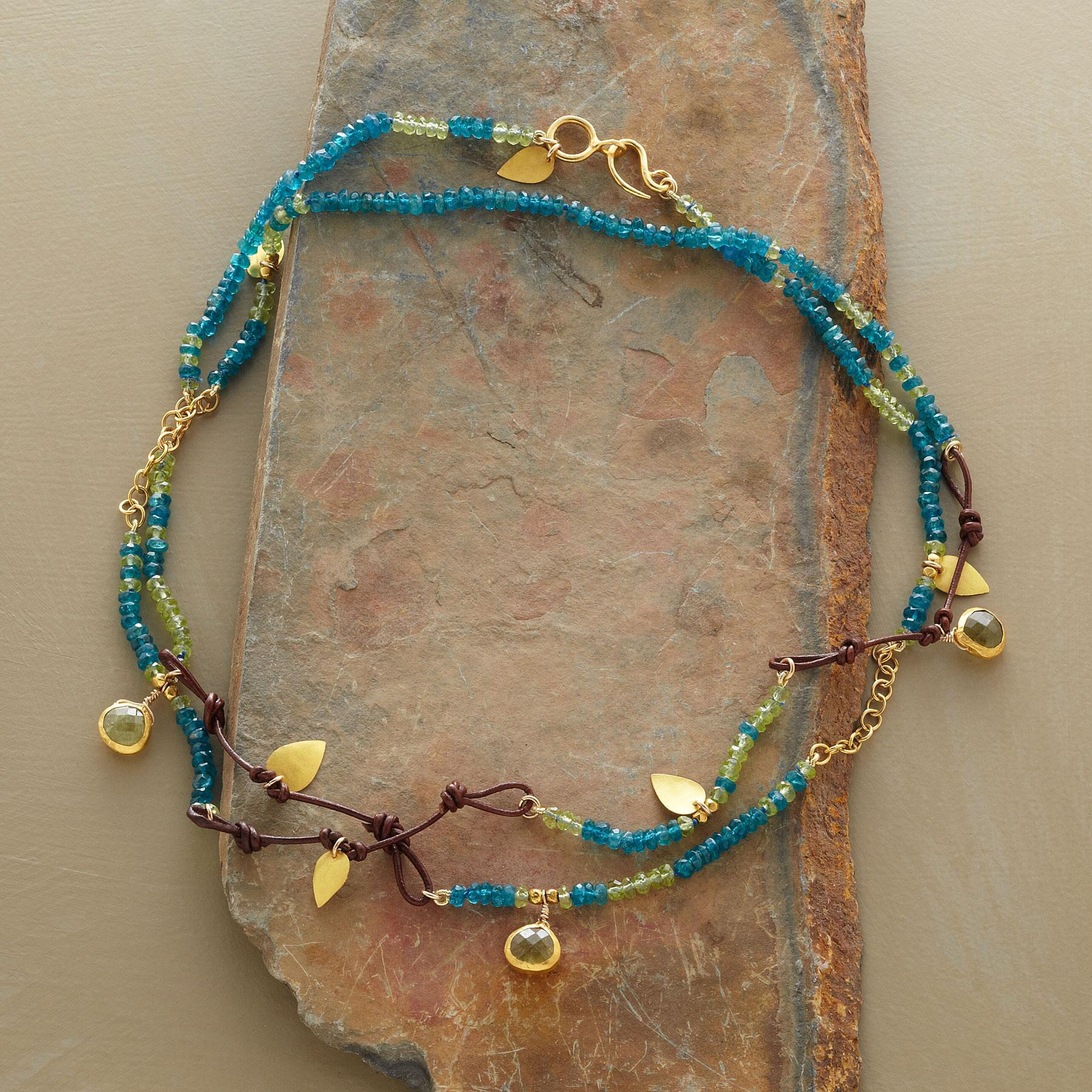 HANDCRAFTED SHORELINE NECKLACE: View 2