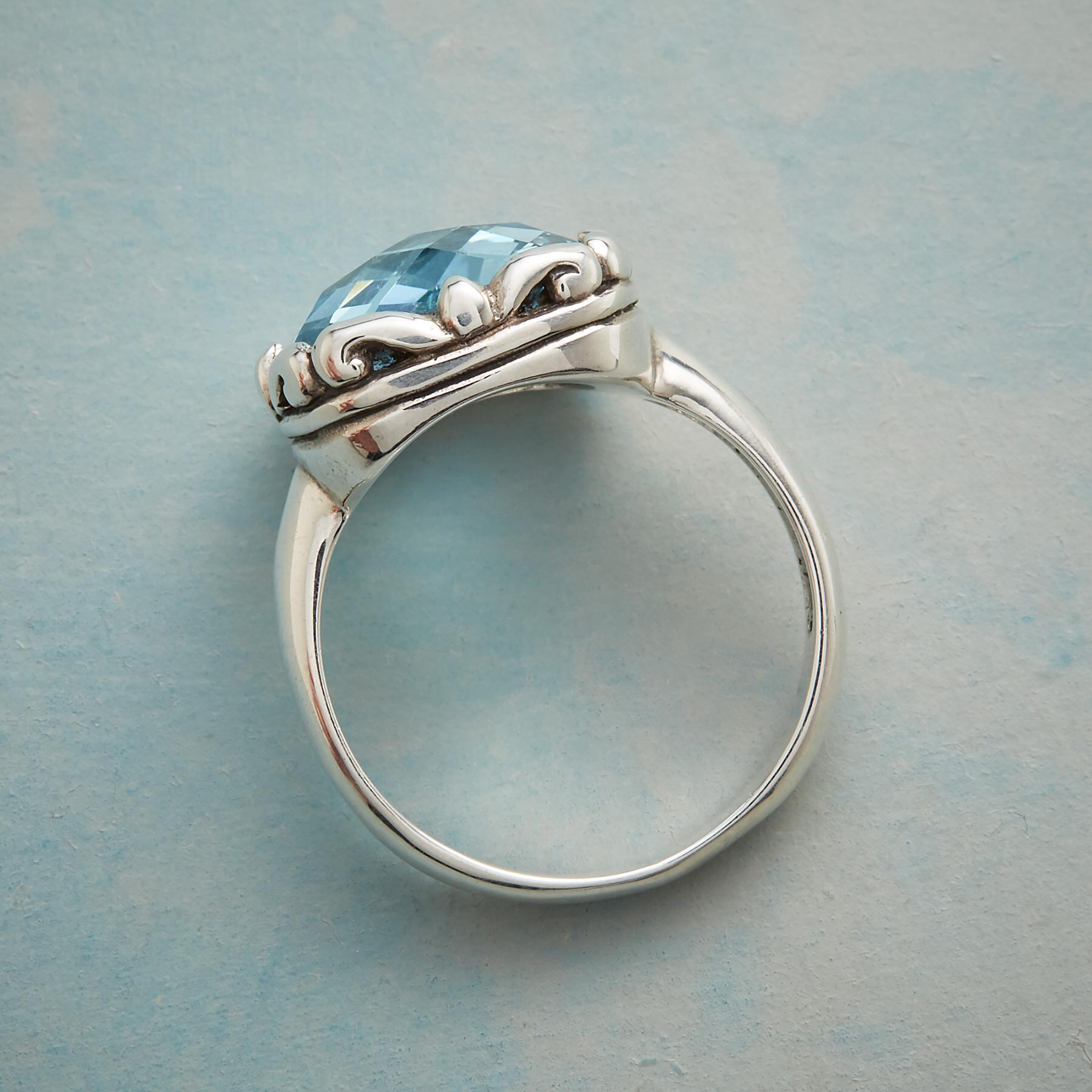 BLUE BOMBSHELL RING: View 3
