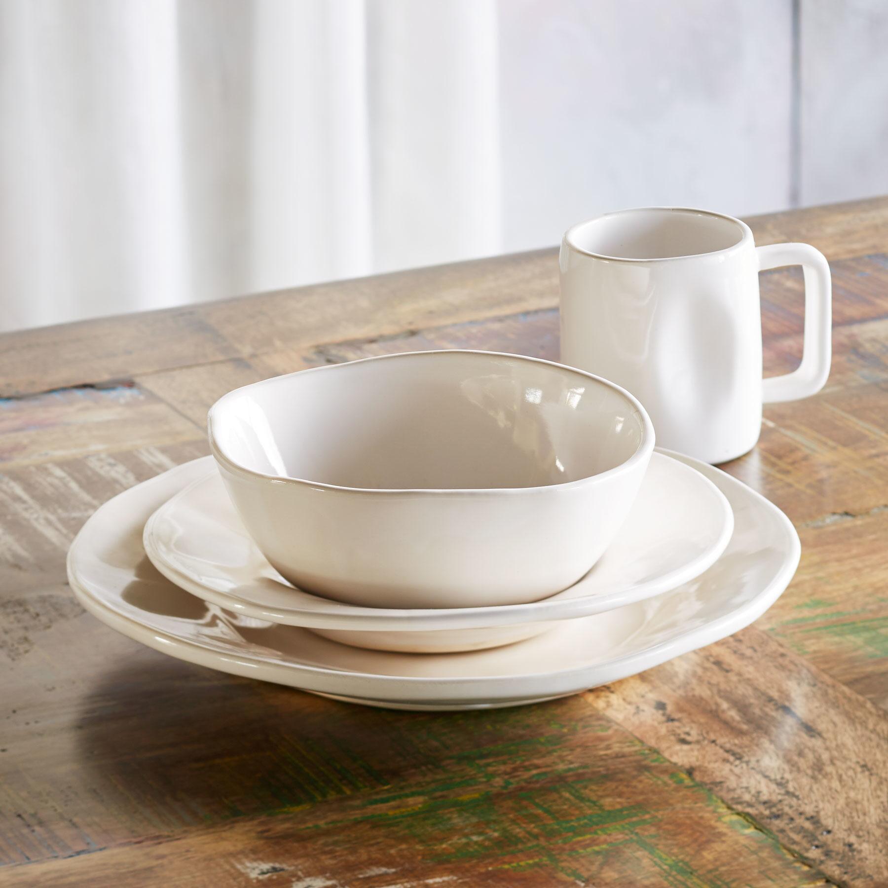 ALEX MARSHALL ORGANIC DINNERWARE, 4-PIECE PLACE SETTING: View 1