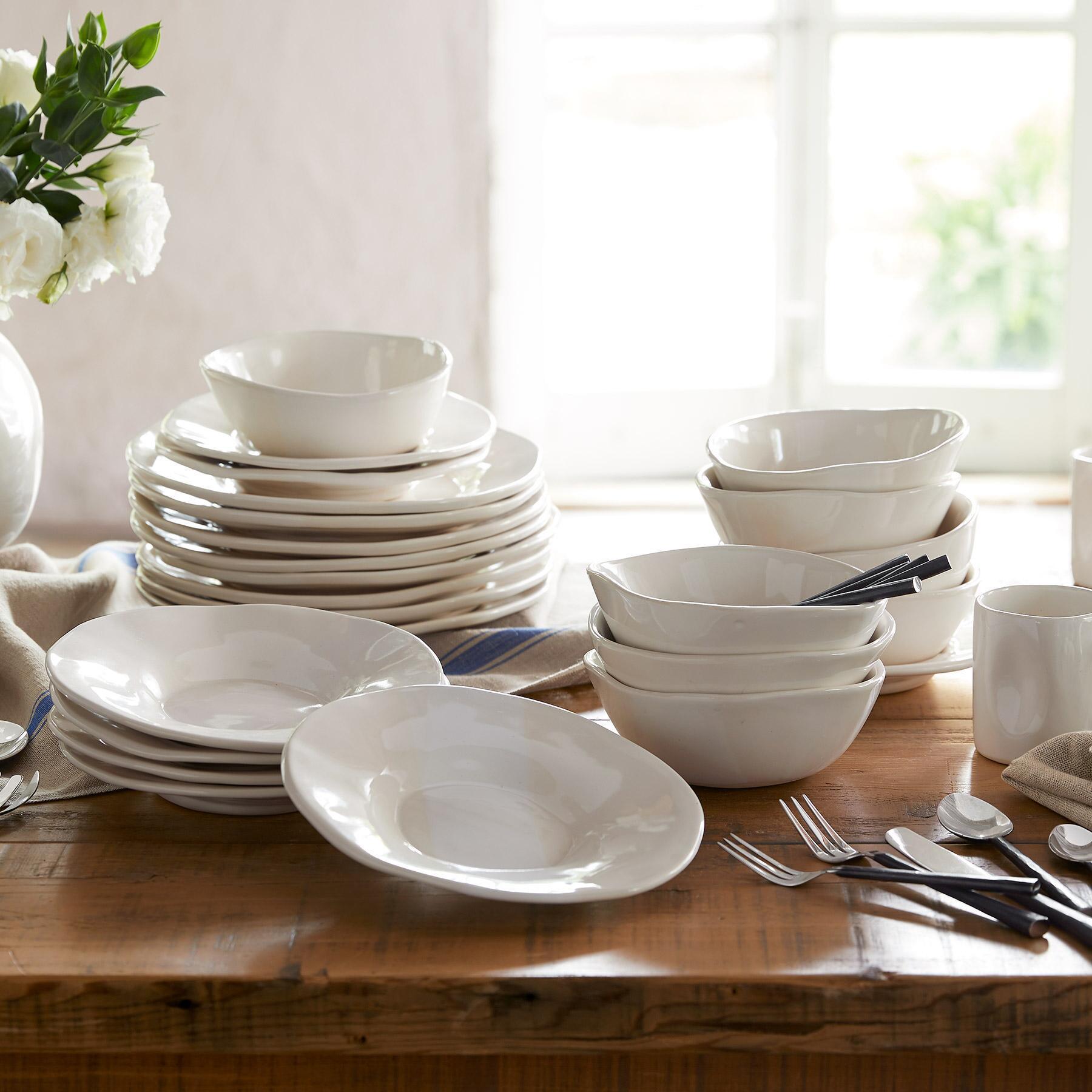 ALEX MARSHALL ORGANIC DINNERWARE, 4-PIECE PLACE SETTING: View 2