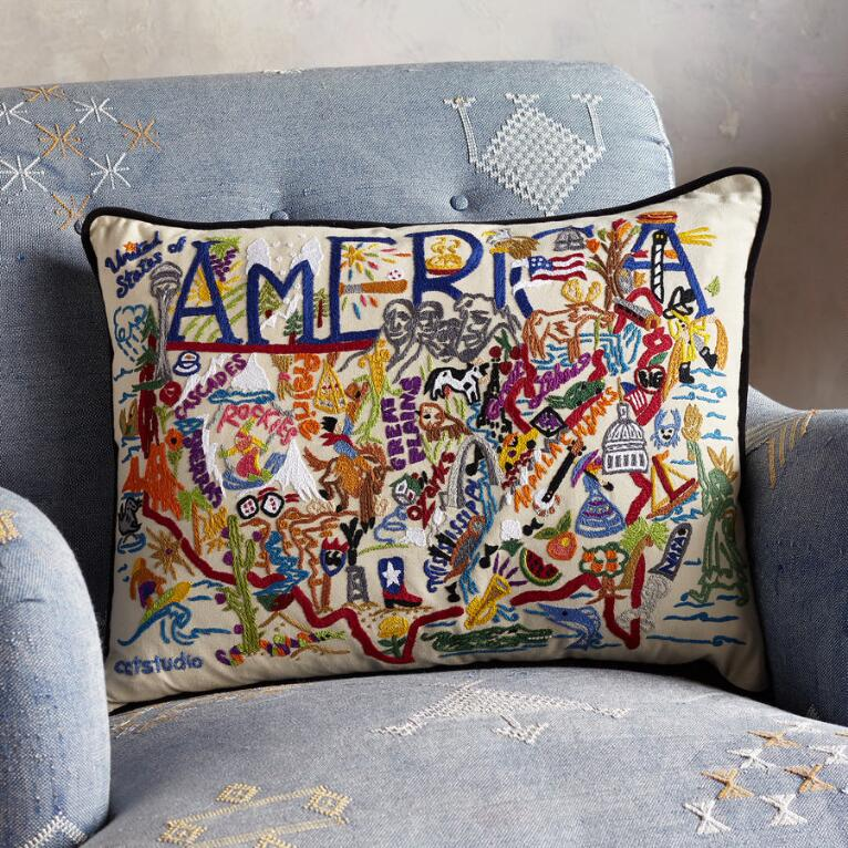 SOUVENIR AMERICA PILLOW