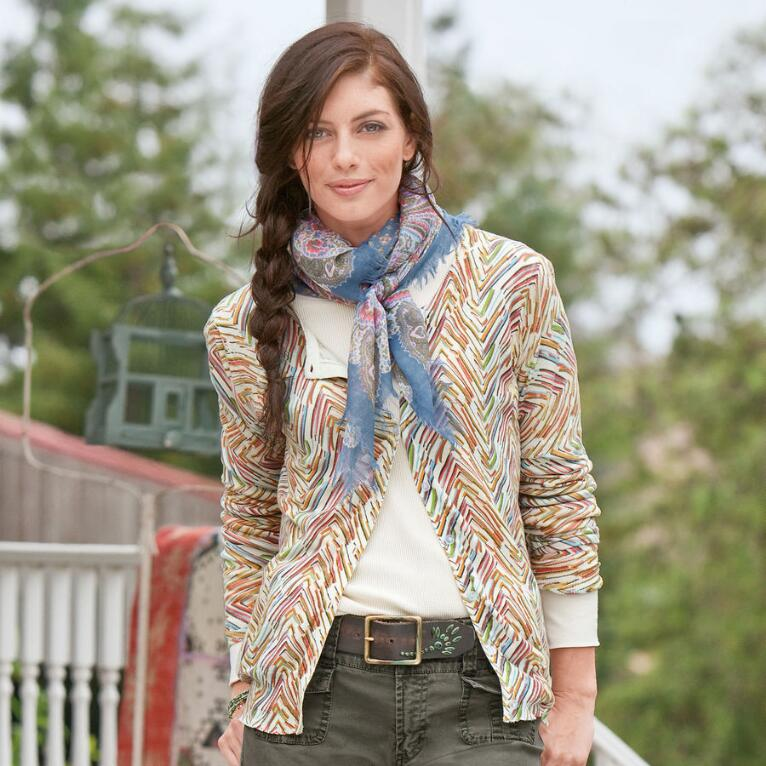 RIGHT ANGLES CARDIGAN
