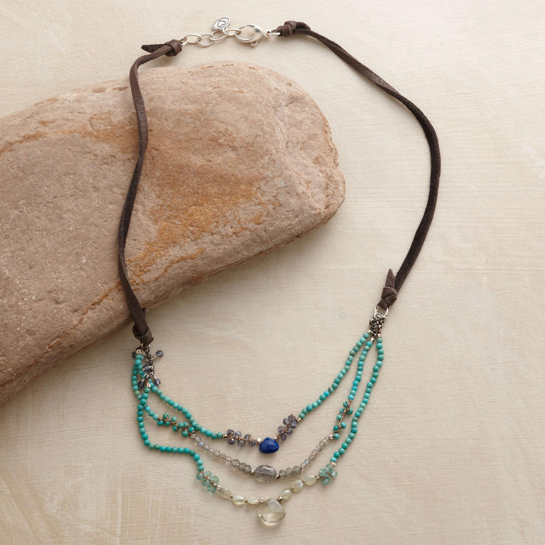 MOODY BLUES NECKLACE: View 2