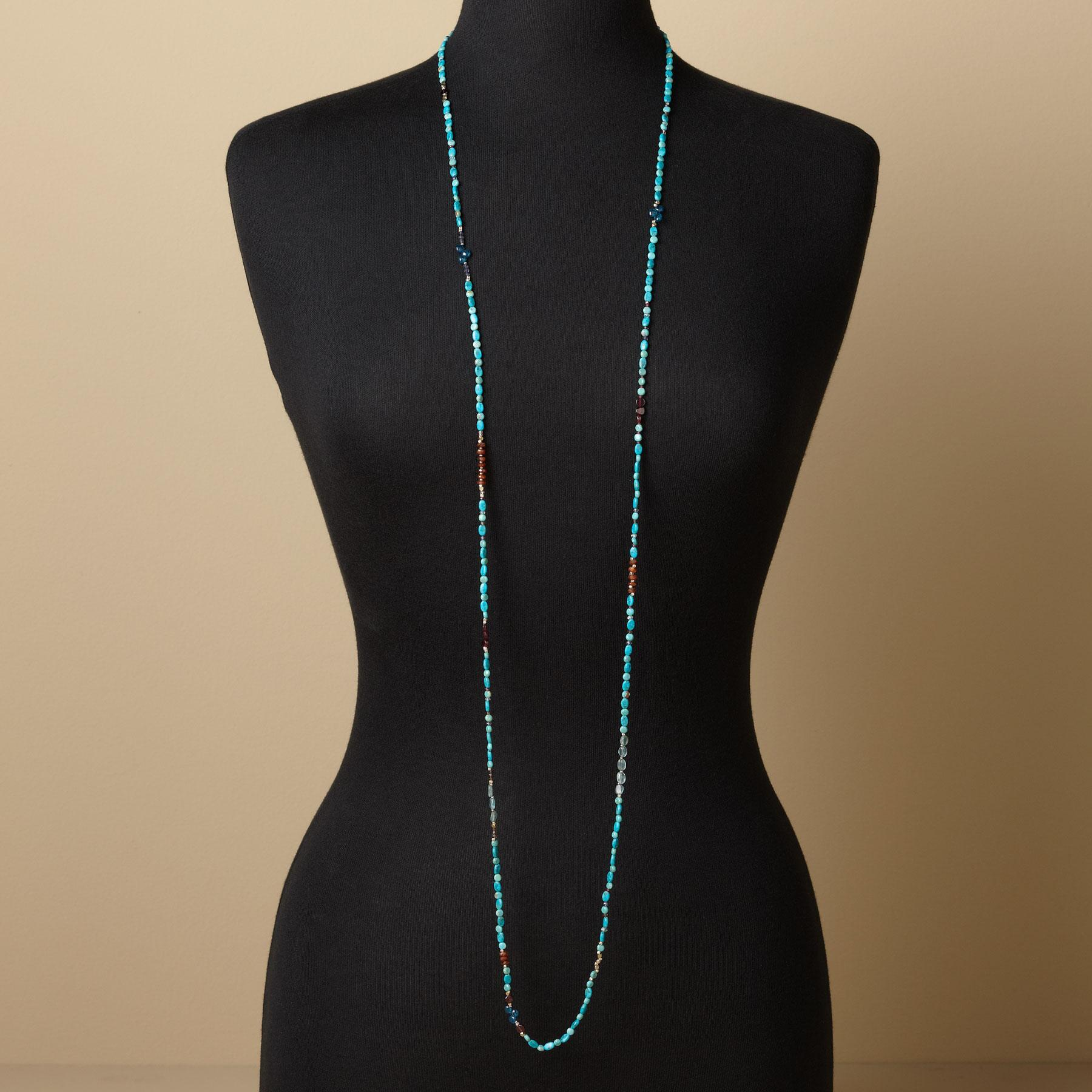 SWINGING THE BLUES NECKLACE: View 4