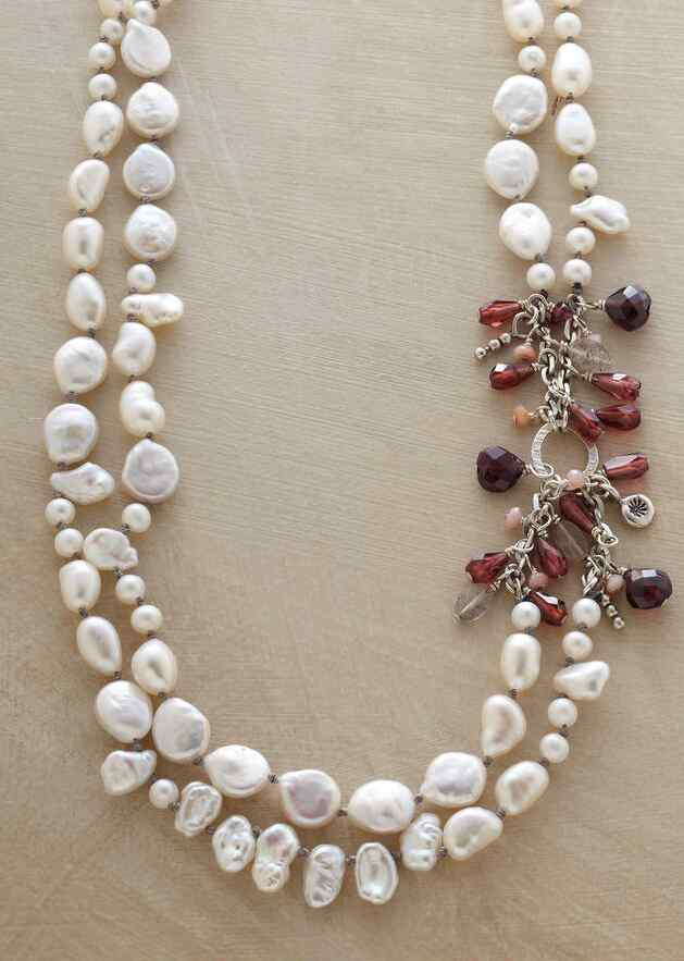 PEARL MÉLANGE NECKLACE
