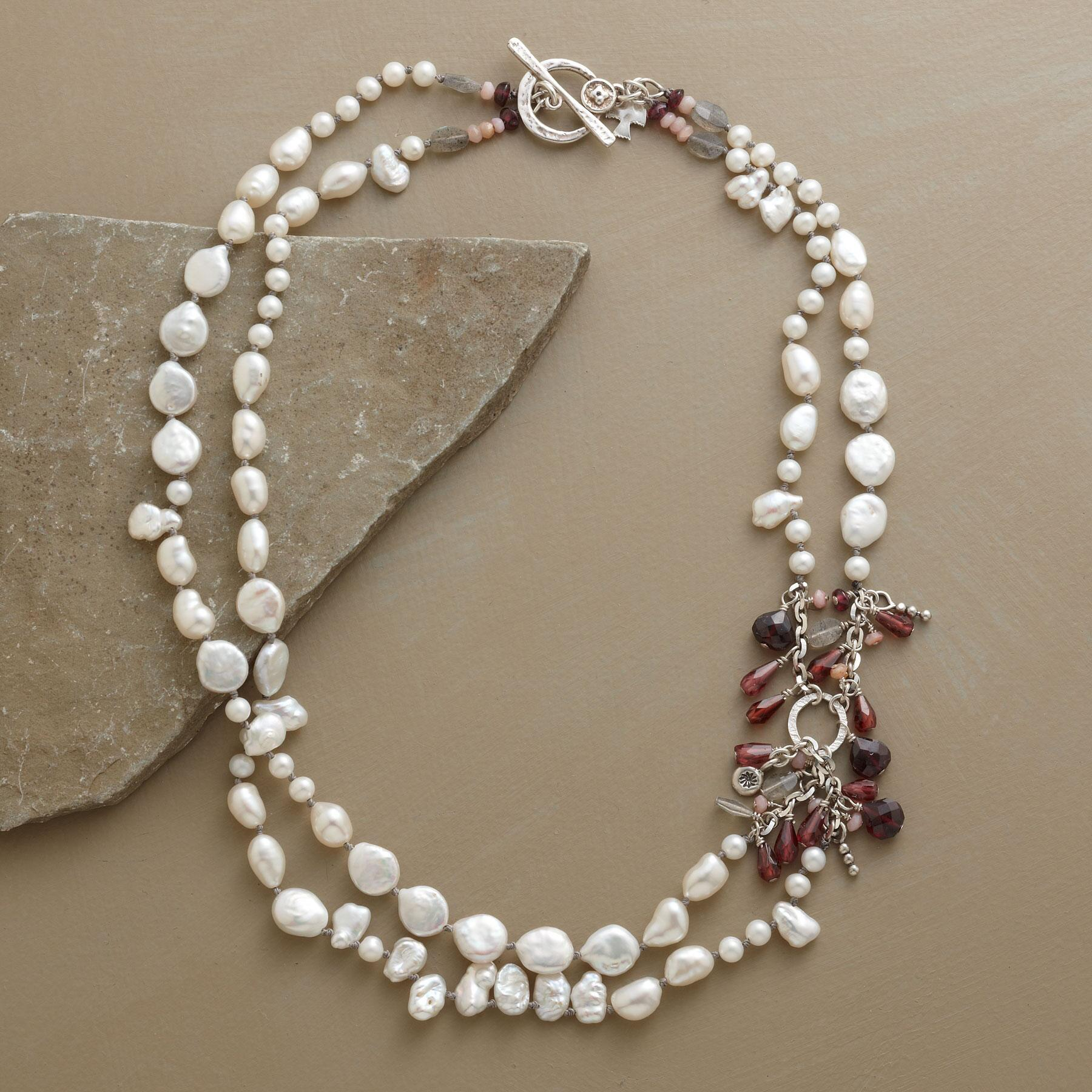 PEARL MELANGE NECKLACE: View 2