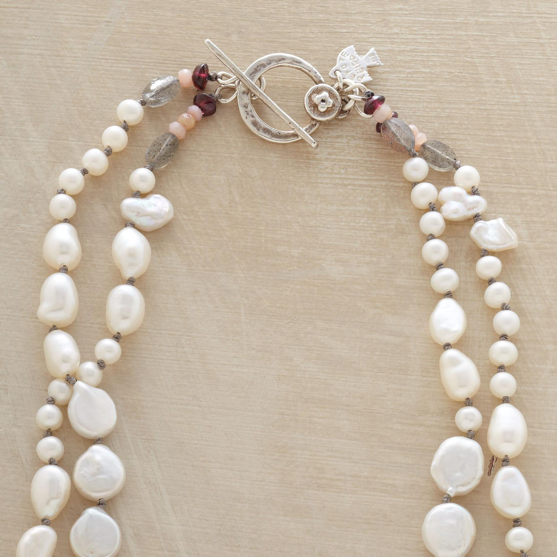PEARL MELANGE NECKLACE: View 3