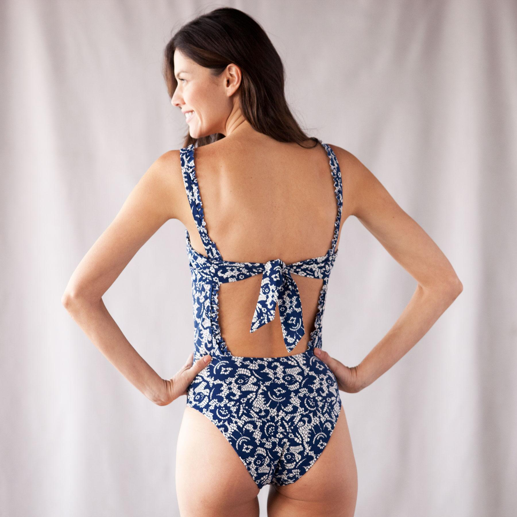 CHANTILLY LACE SWIMSUIT: View 2