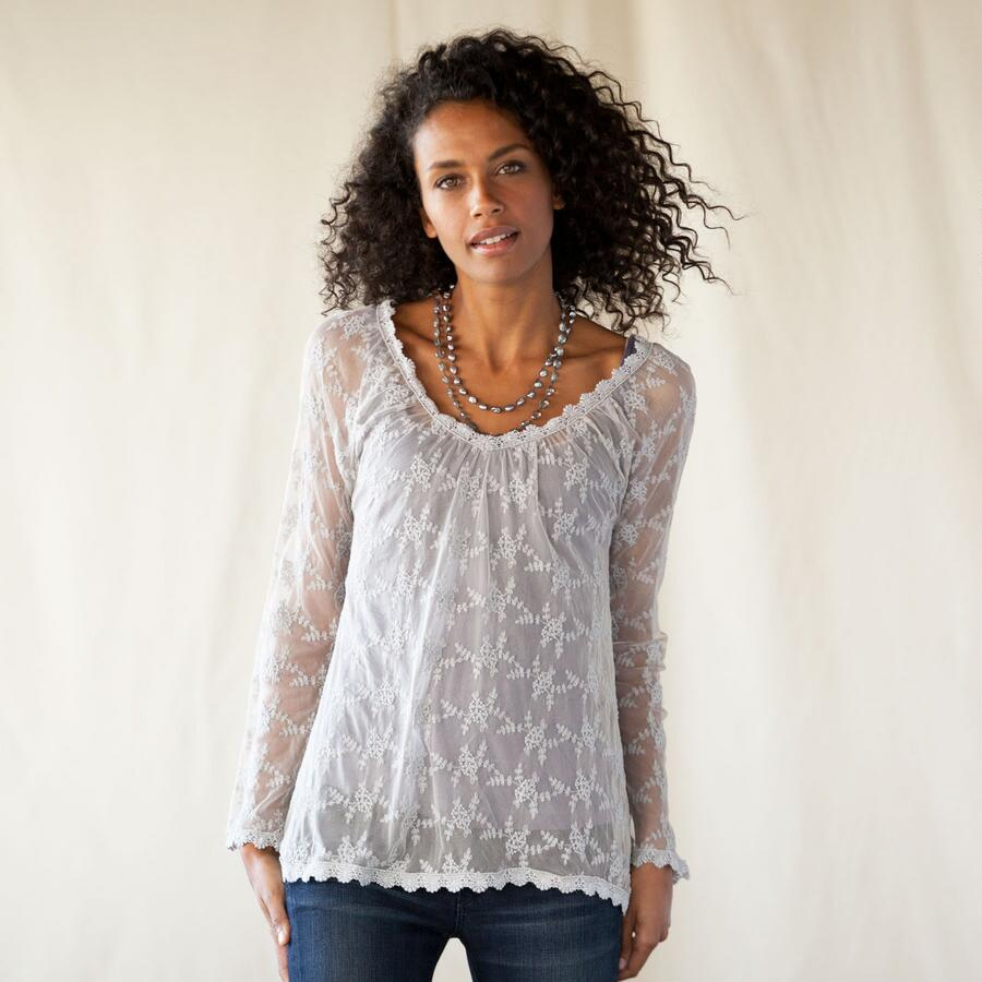MOONMIST LACE TOP