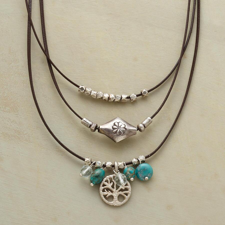 3-STRAND TREE OF LIFE NECKLACE
