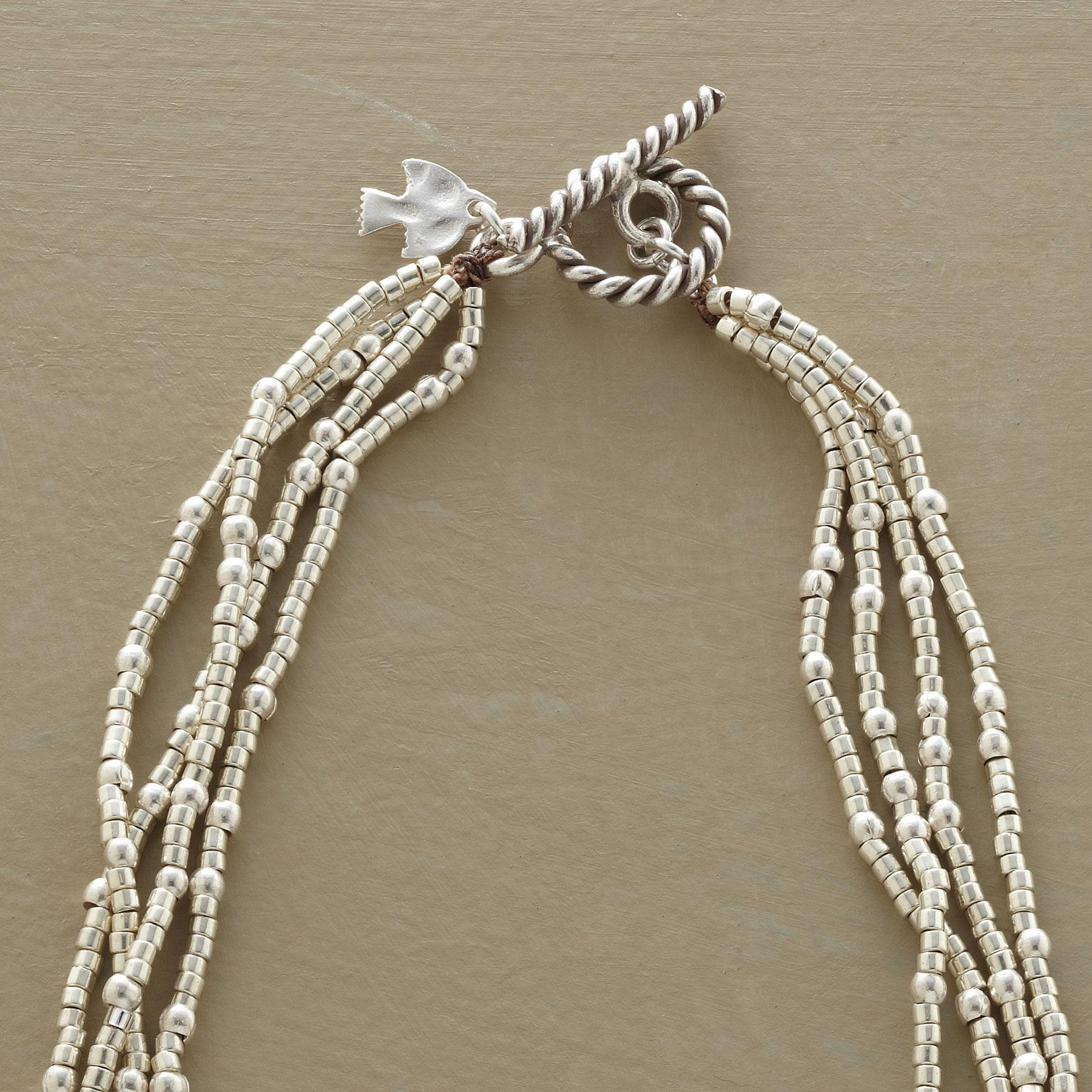 FOUR STRAND CARNIVAL NECKLACE: View 3