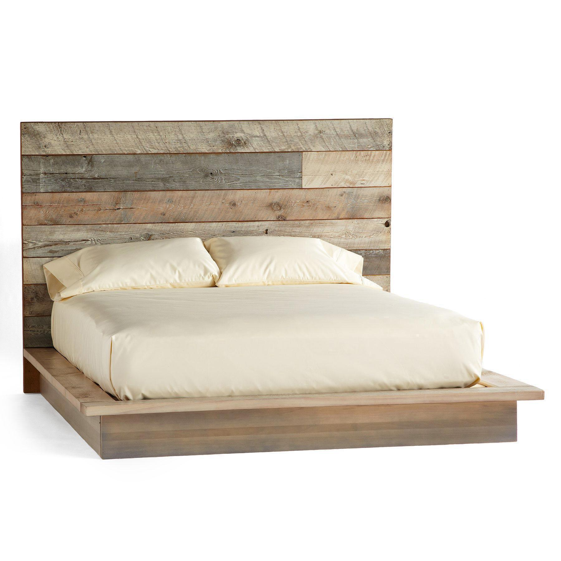 PACIFICA BARNWOOD PLATFORM BED: View 2
