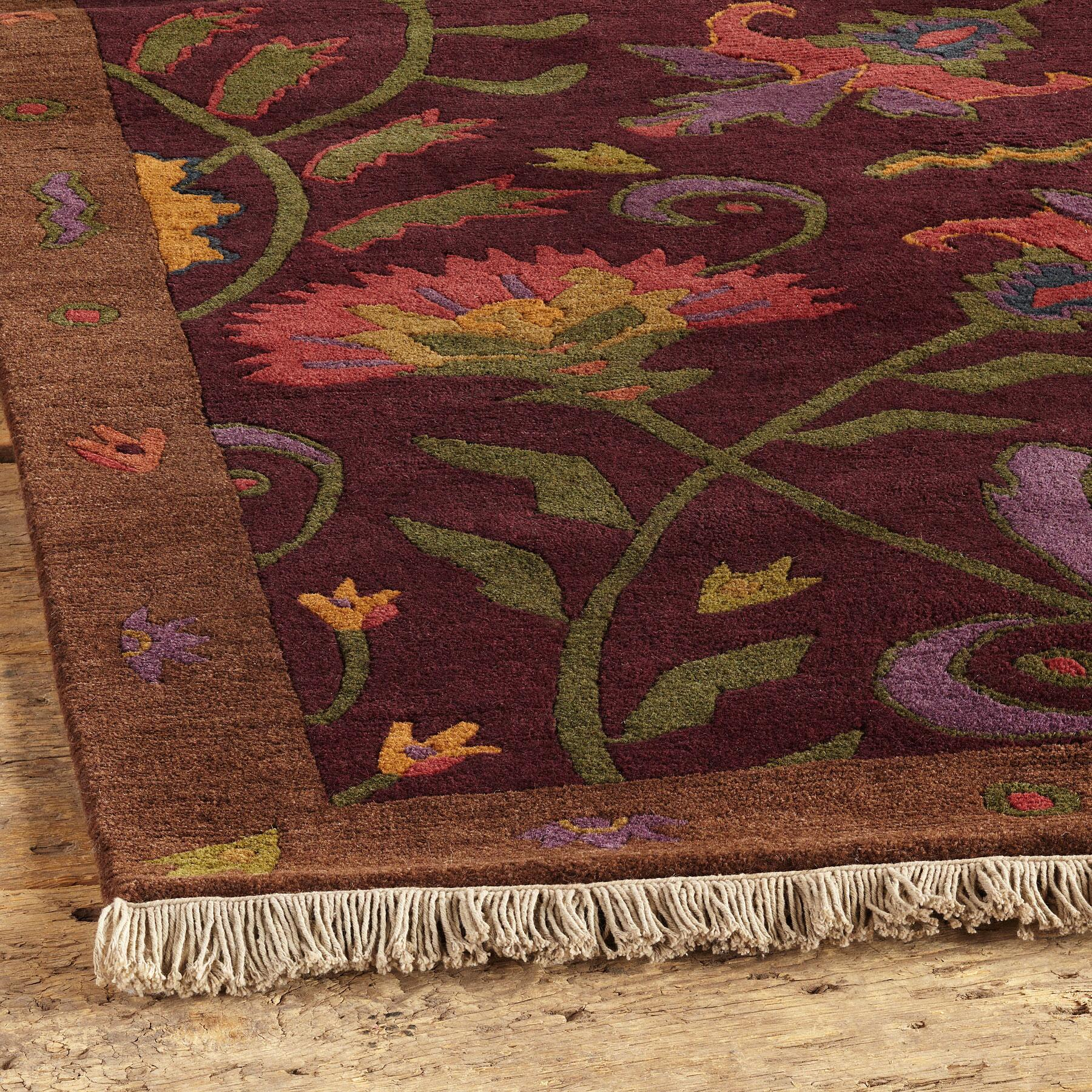 HATFIELD TIBETAN HAND-KNOTTED RUG: View 2