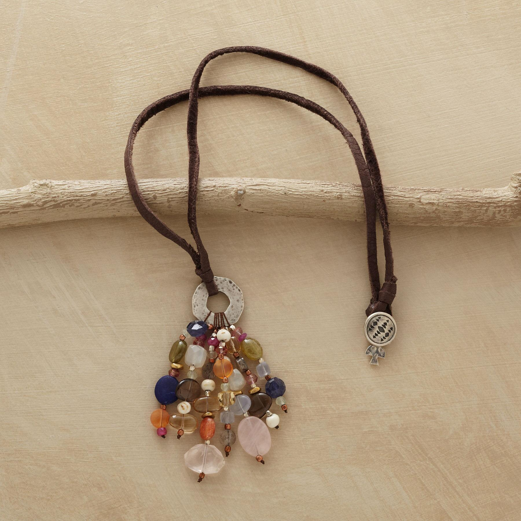 BRILLIANT TASSEL NECKLACE: View 2