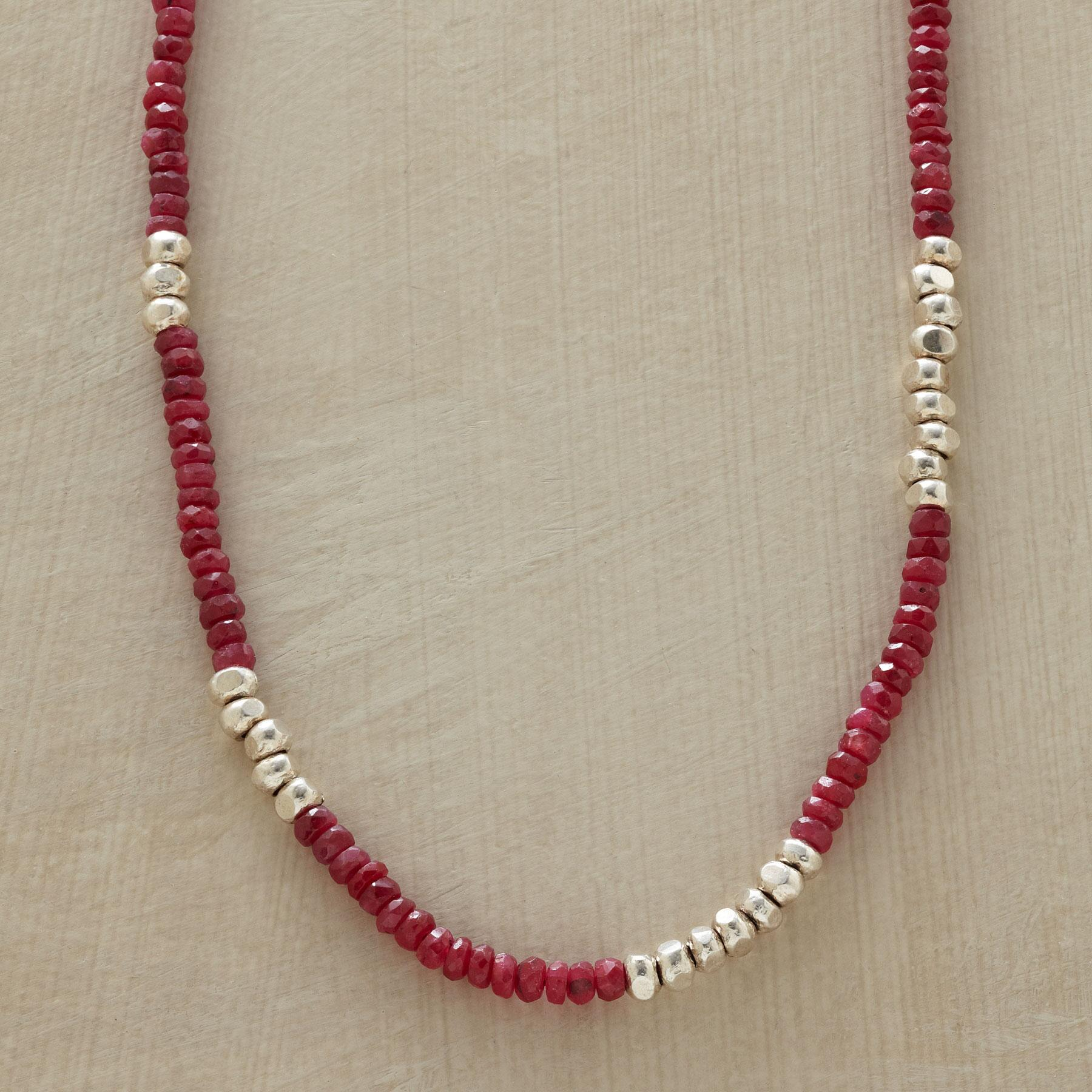 RED RACER NECKLACE: View 1
