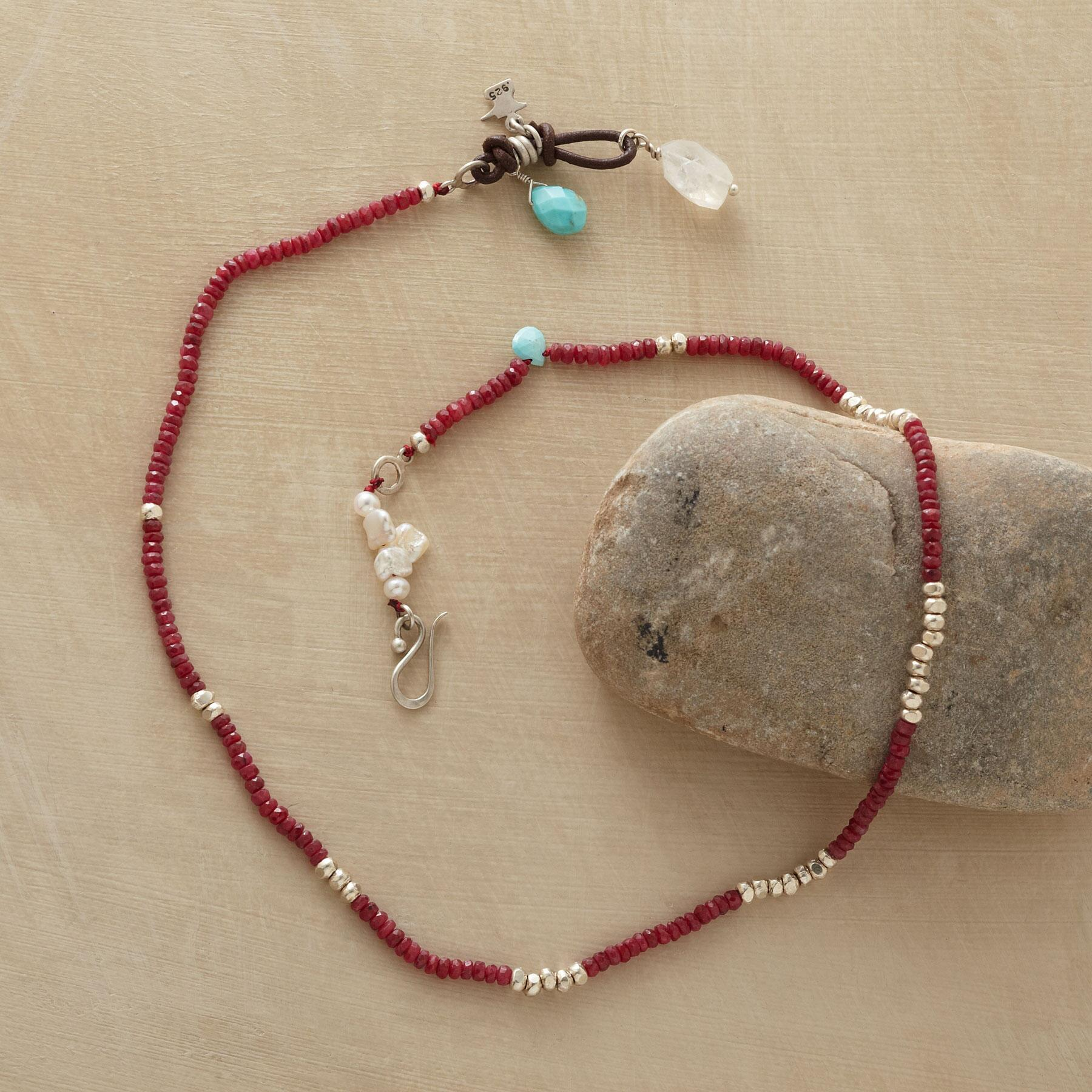 RED RACER NECKLACE: View 2