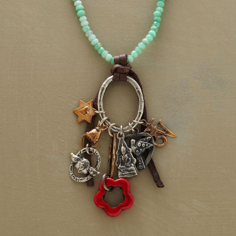 BAMBOO BLESSINGS NECKLACE