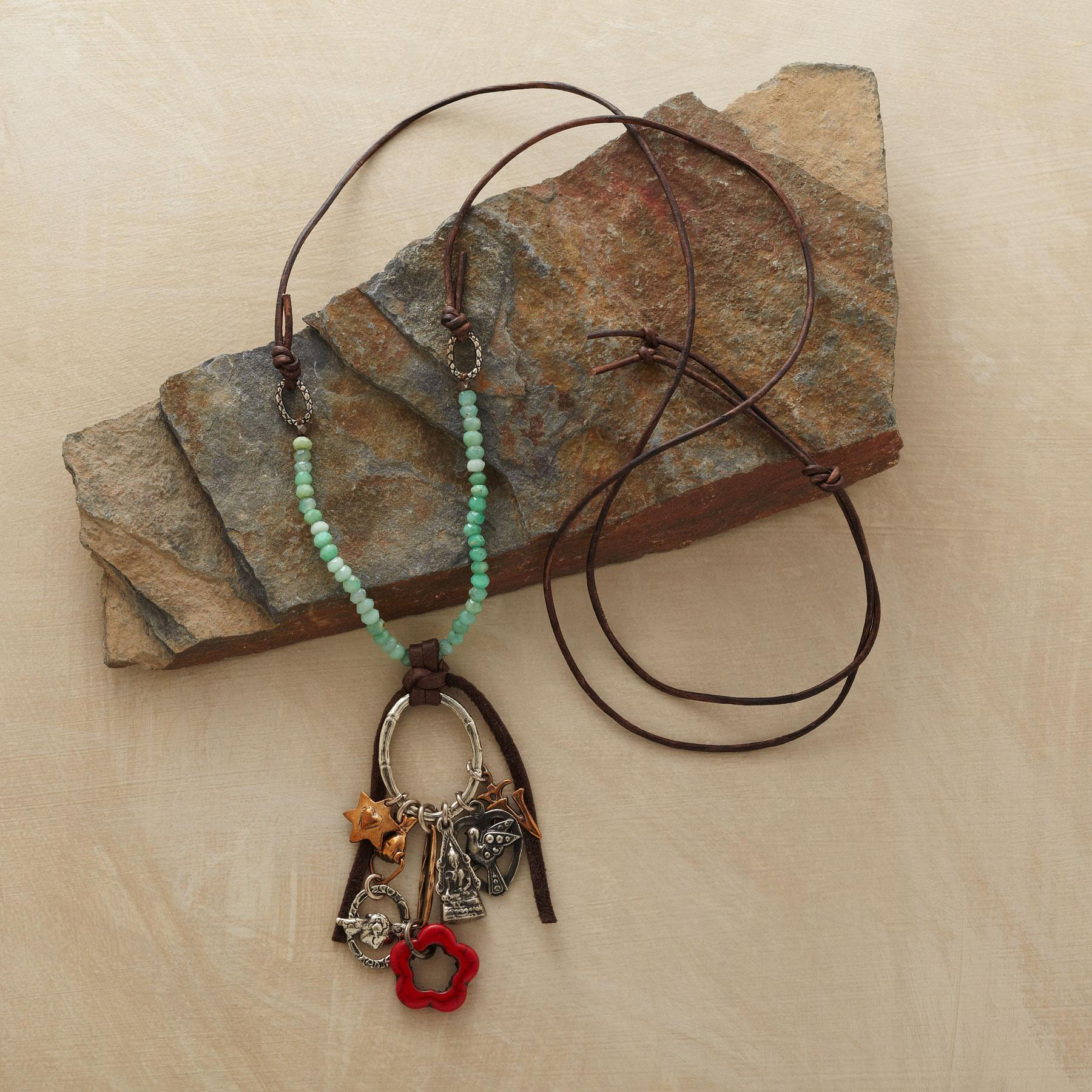 BAMBOO BLESSINGS NECKLACE: View 2