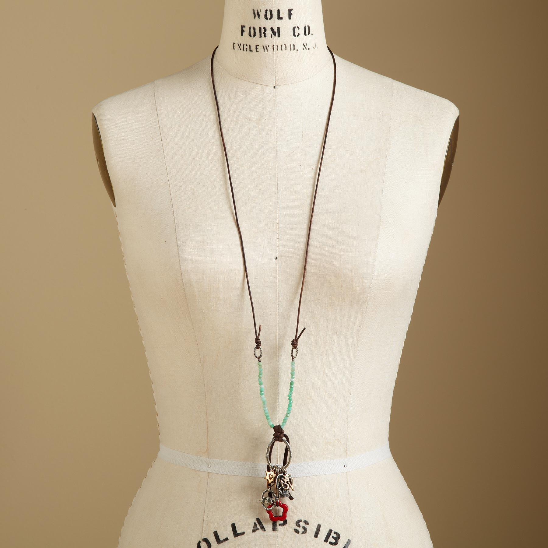 BAMBOO BLESSINGS NECKLACE: View 4