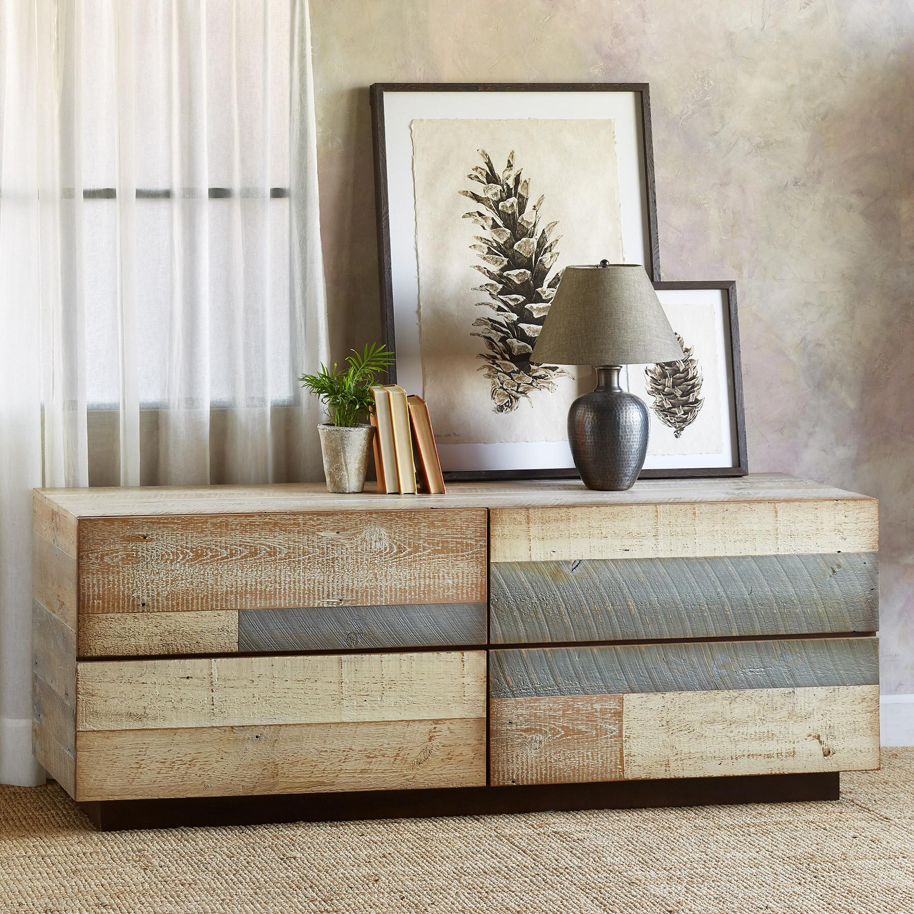 PACIFICA BARNWOOD LOW DRESSER: View 1