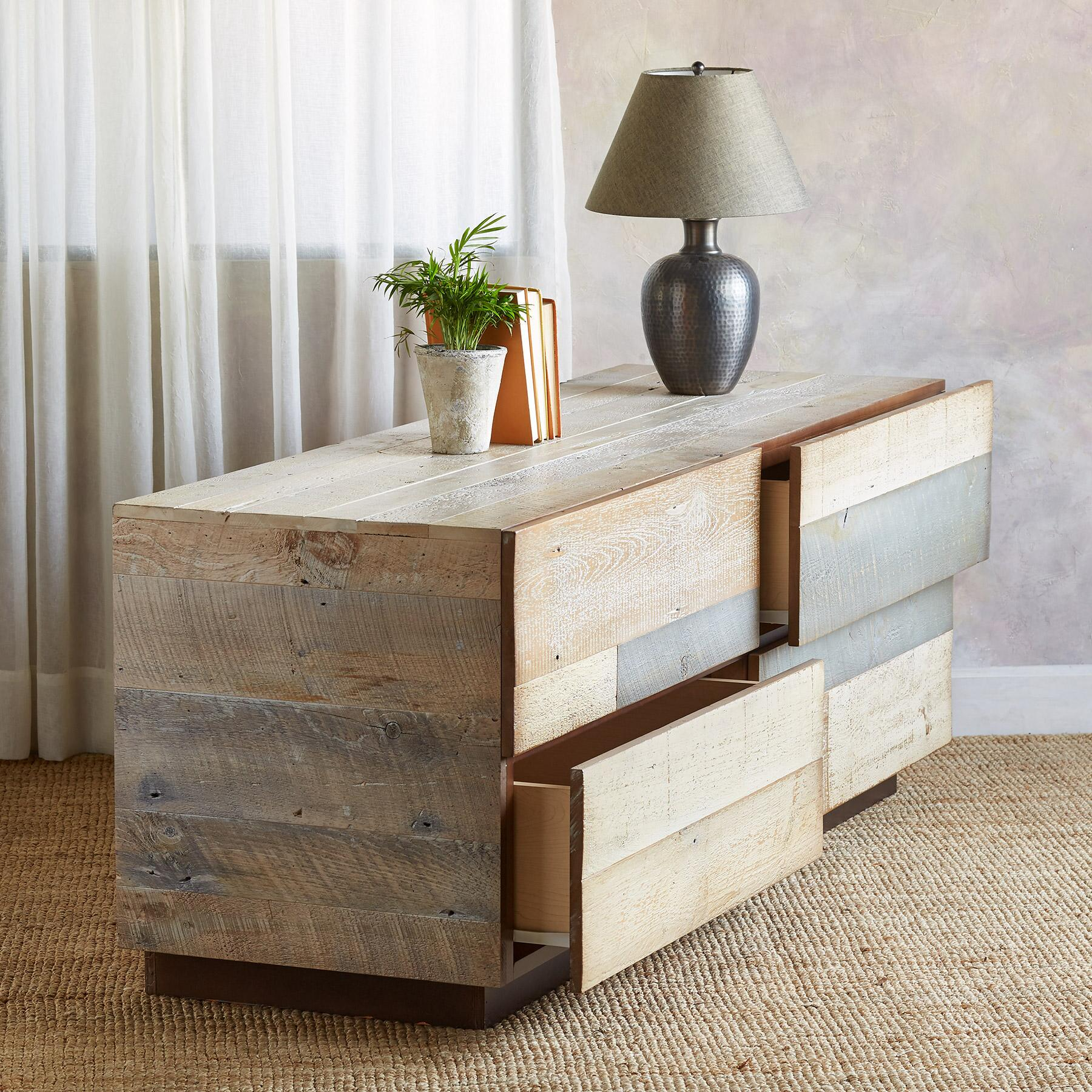 PACIFICA BARNWOOD LOW DRESSER: View 2