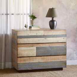 PACIFICA BARNWOOD HIGH DRESSER