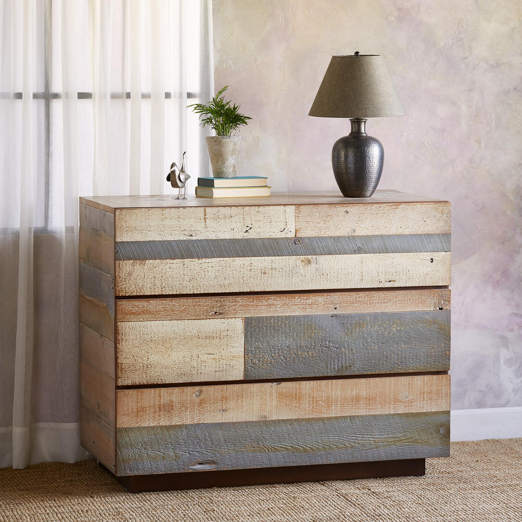 PACIFICA BARNWOOD HIGH DRESSER: View 1