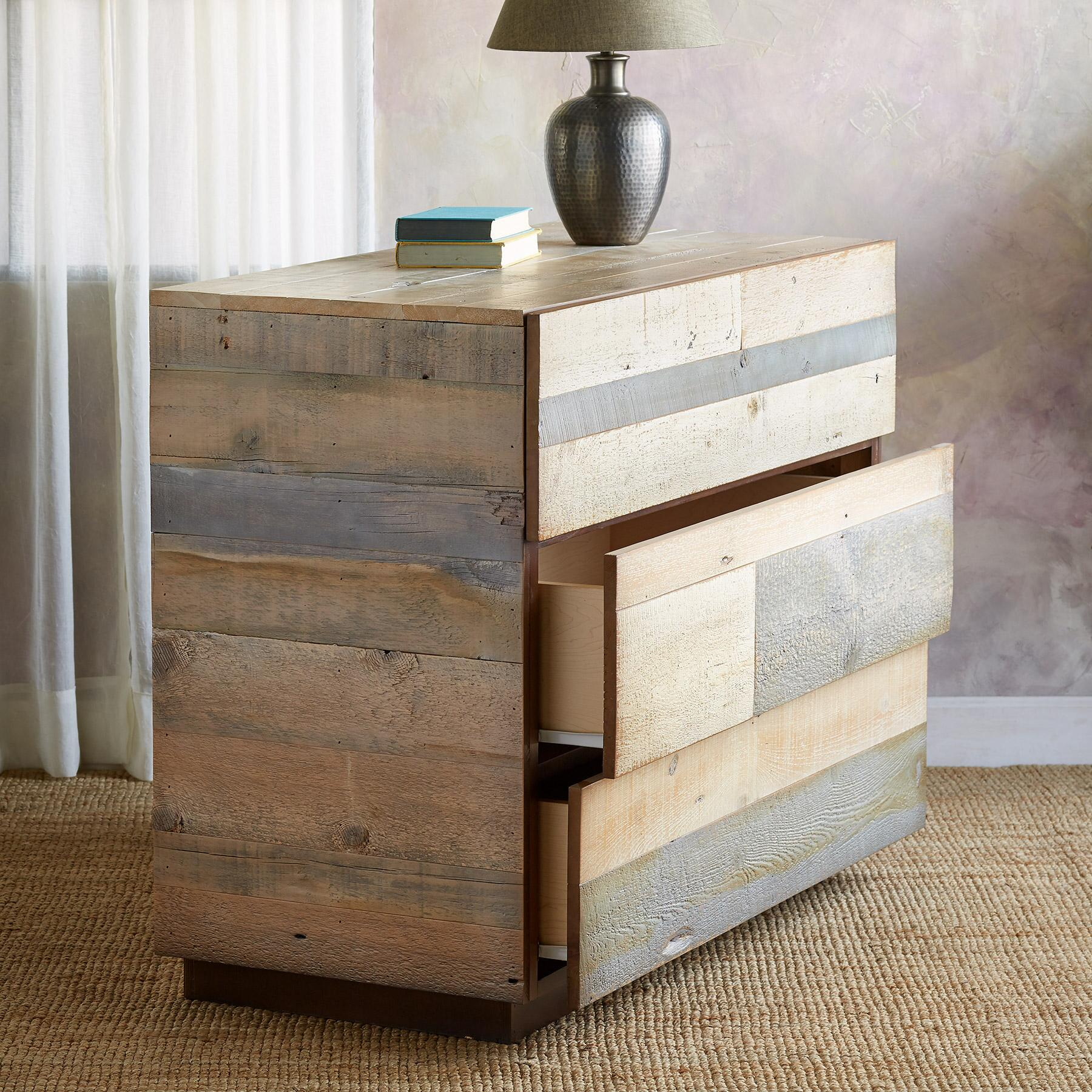 PACIFICA BARNWOOD HIGH DRESSER: View 2