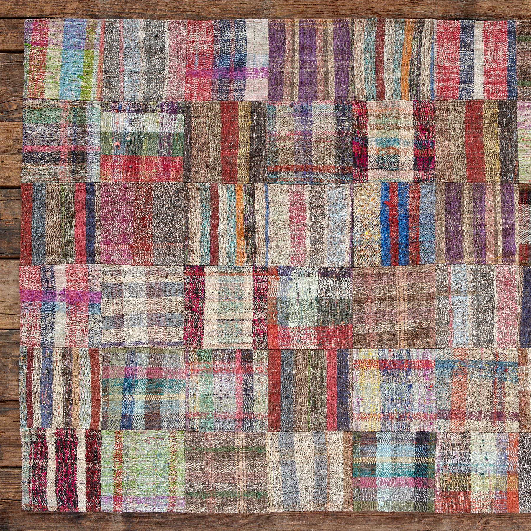 TURKISH DELIGHTS PATCHWORKRUG 8X10: View 1