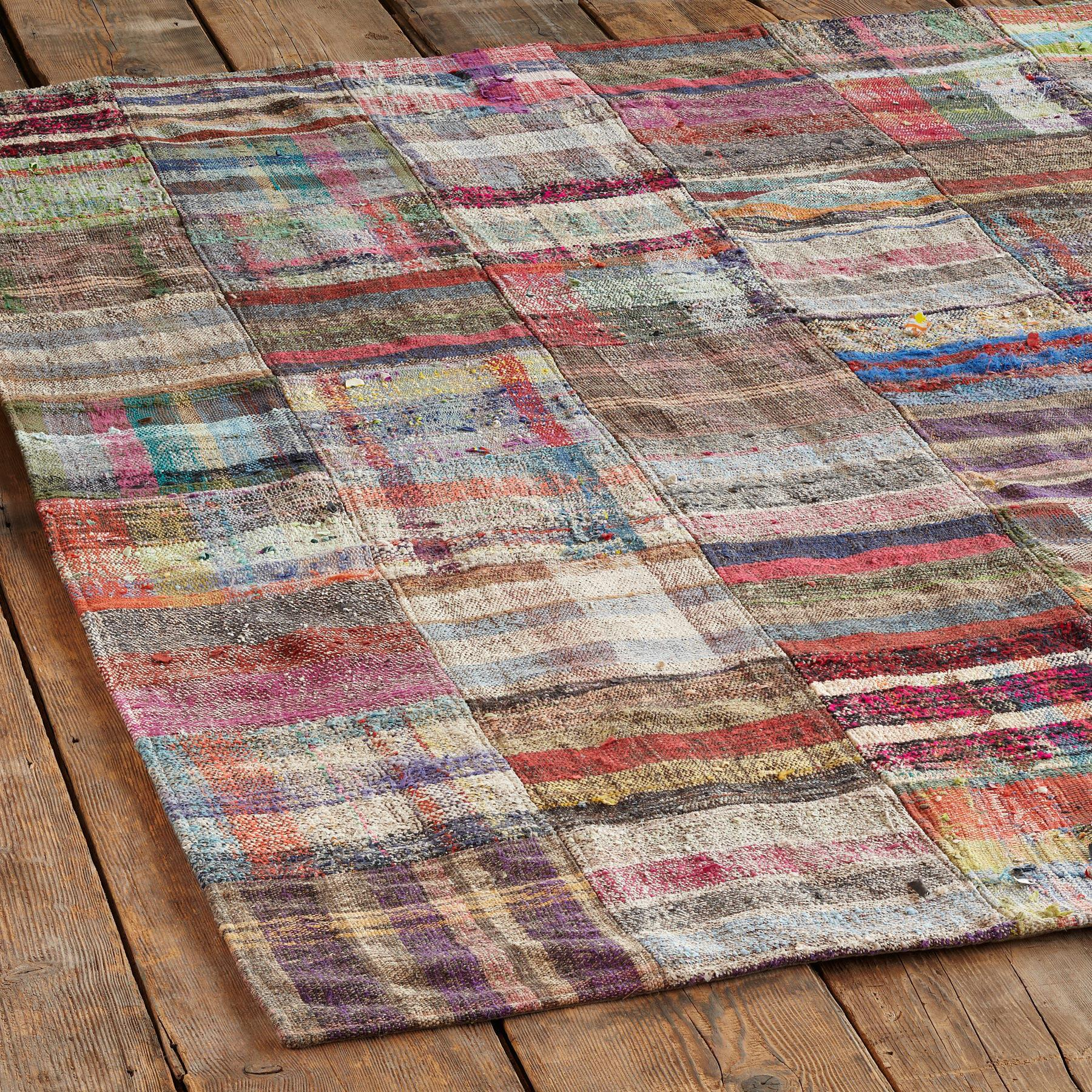 TURKISH DELIGHTS PATCHWORKRUG 8X10: View 2