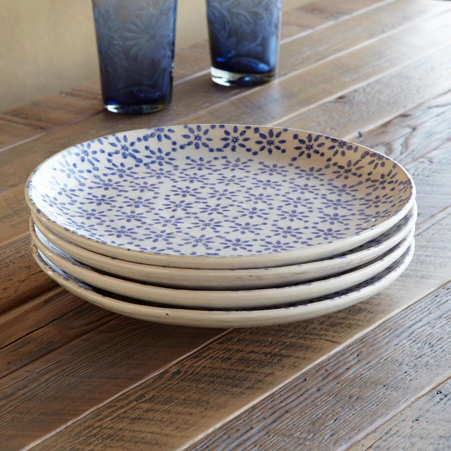 BLUE BOUQUET DINNERWARE