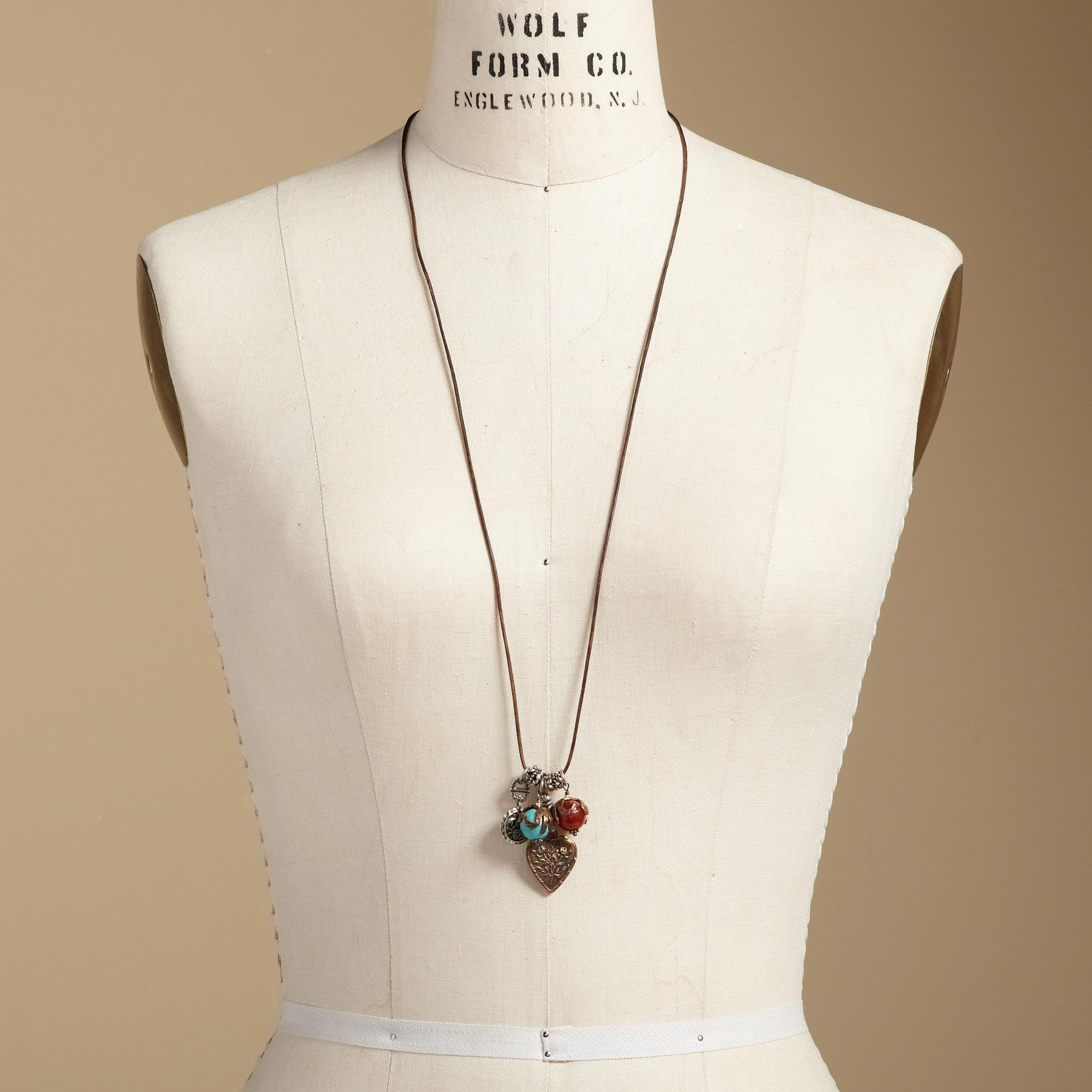 LOVE CHARMS NECKLACE: View 4
