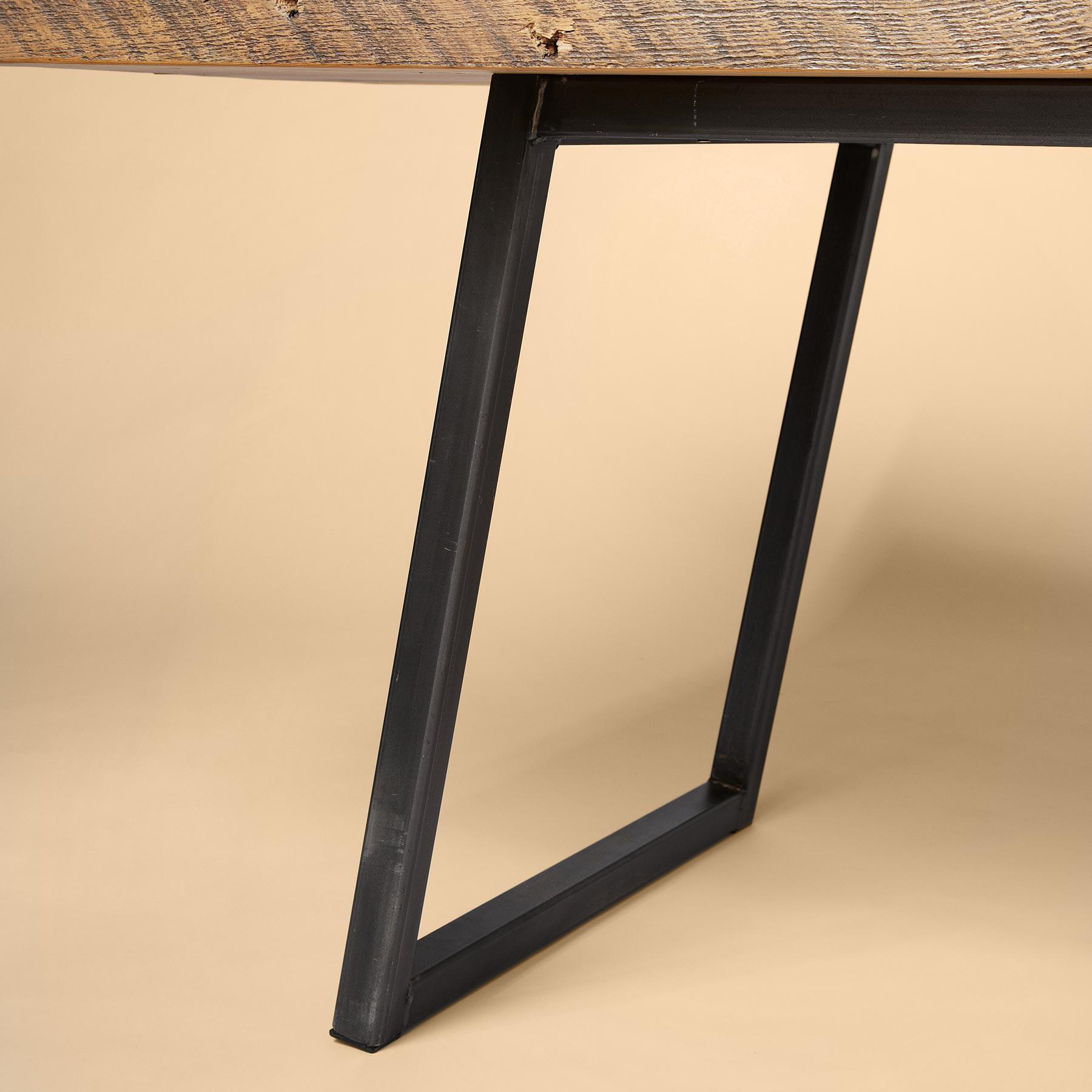 SOMA RECLAIMED PINE DINING TABLE: View 2