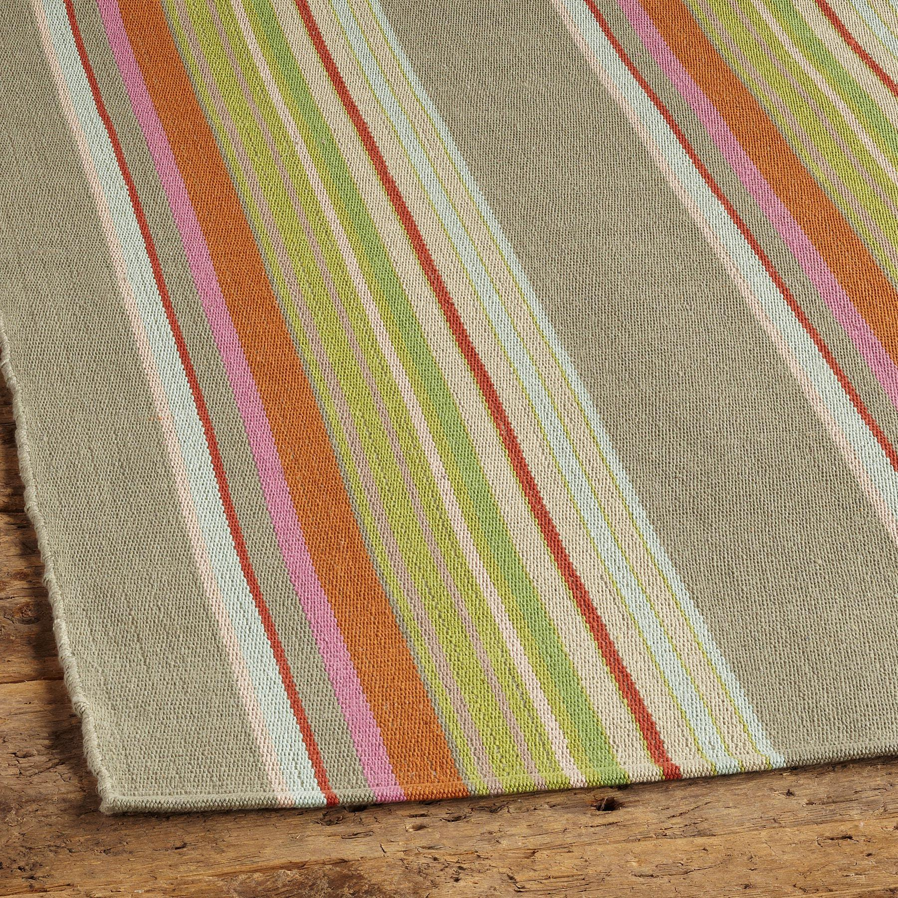 HADLERY STRIPE WOVEN RUG: View 2