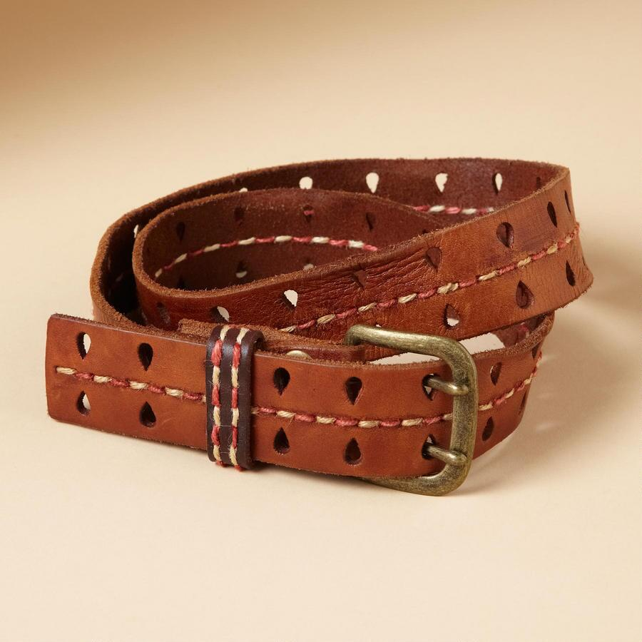 CENTERLINE LEATHER BELT