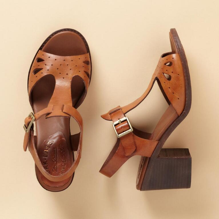 BETHANY T-STRAP SANDALS