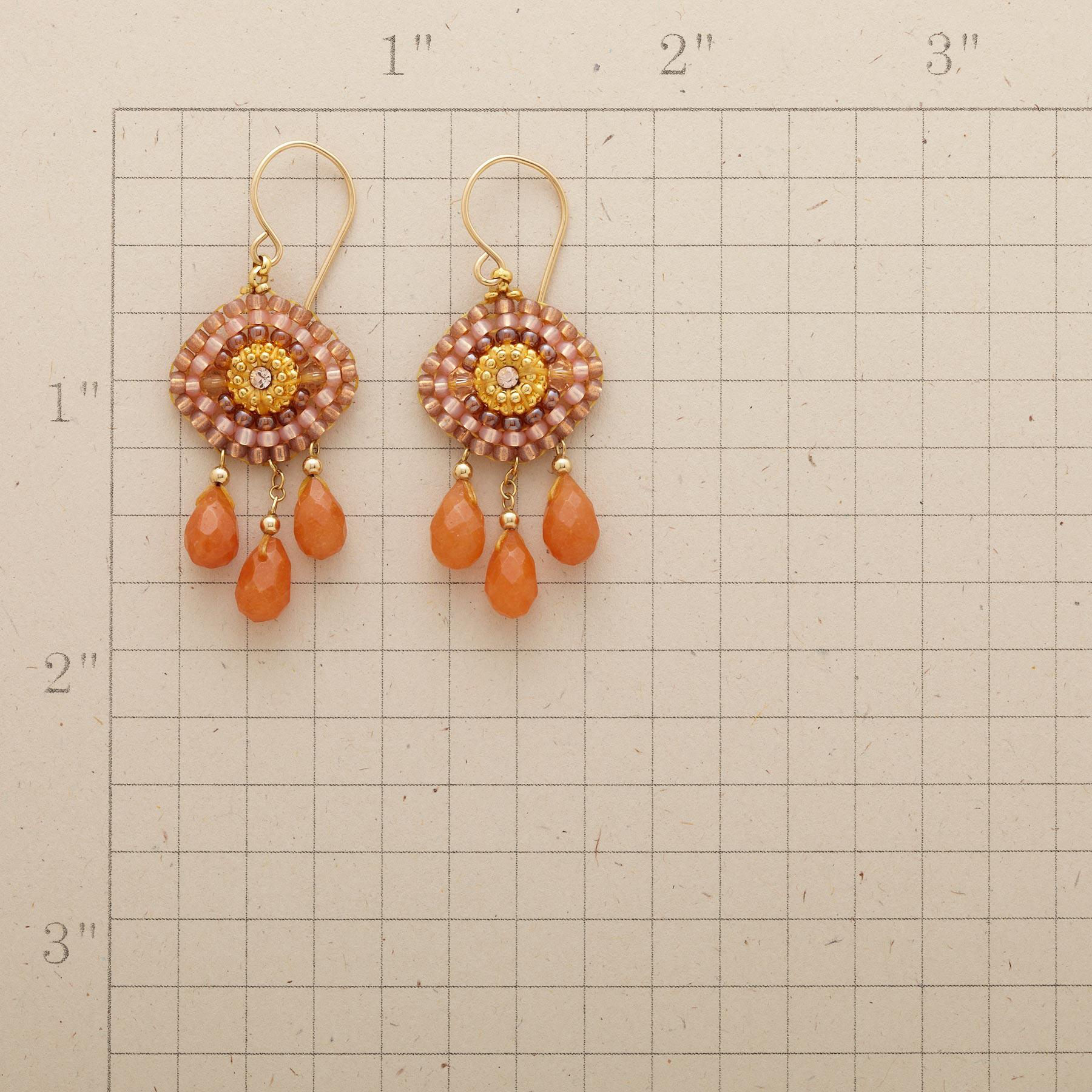 SUN GODDESS EARRINGS: View 2