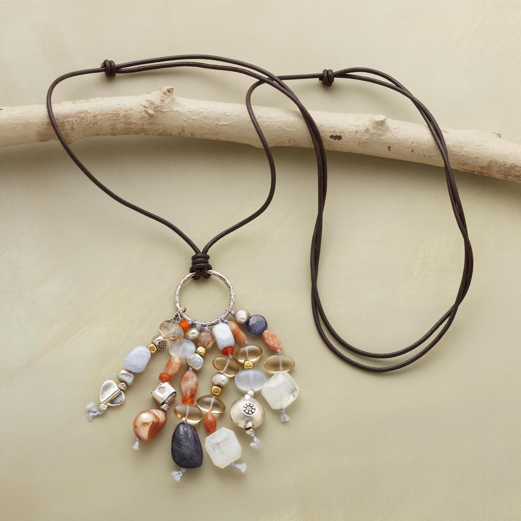 TANTALIZING TASSEL NECKLACE: View 2